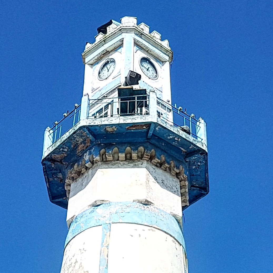 200 years old...Anzali port Tower by taherikambiz