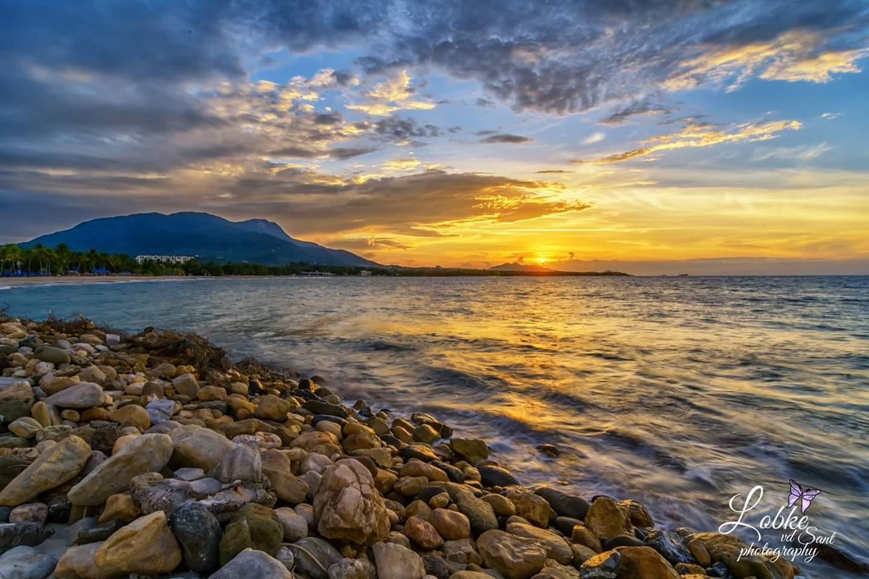 sunset  by Lobke Van de Sant