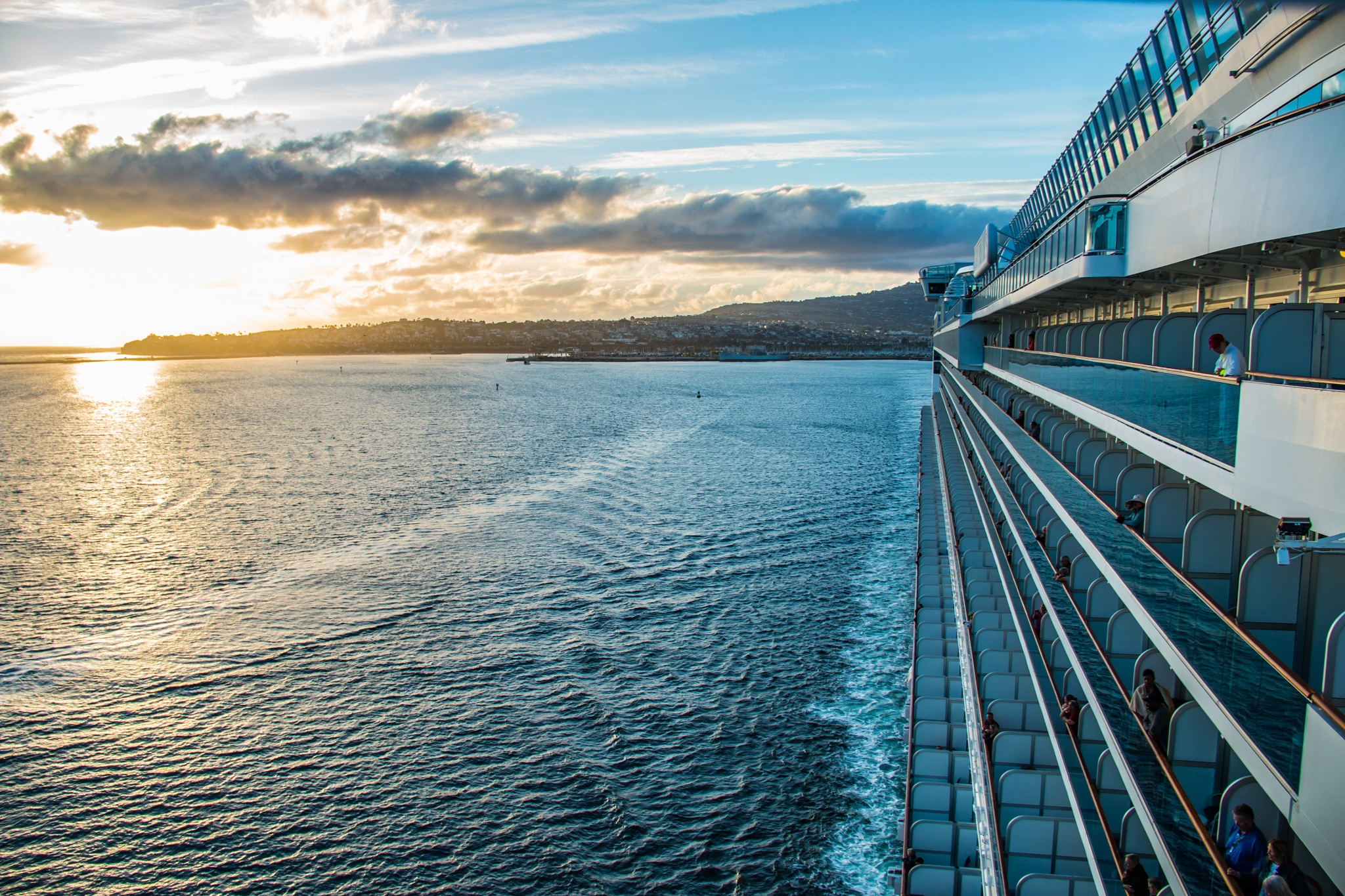 Sailing Away & Watching the Sunset by JD3Studios l Joseph DeFalco III