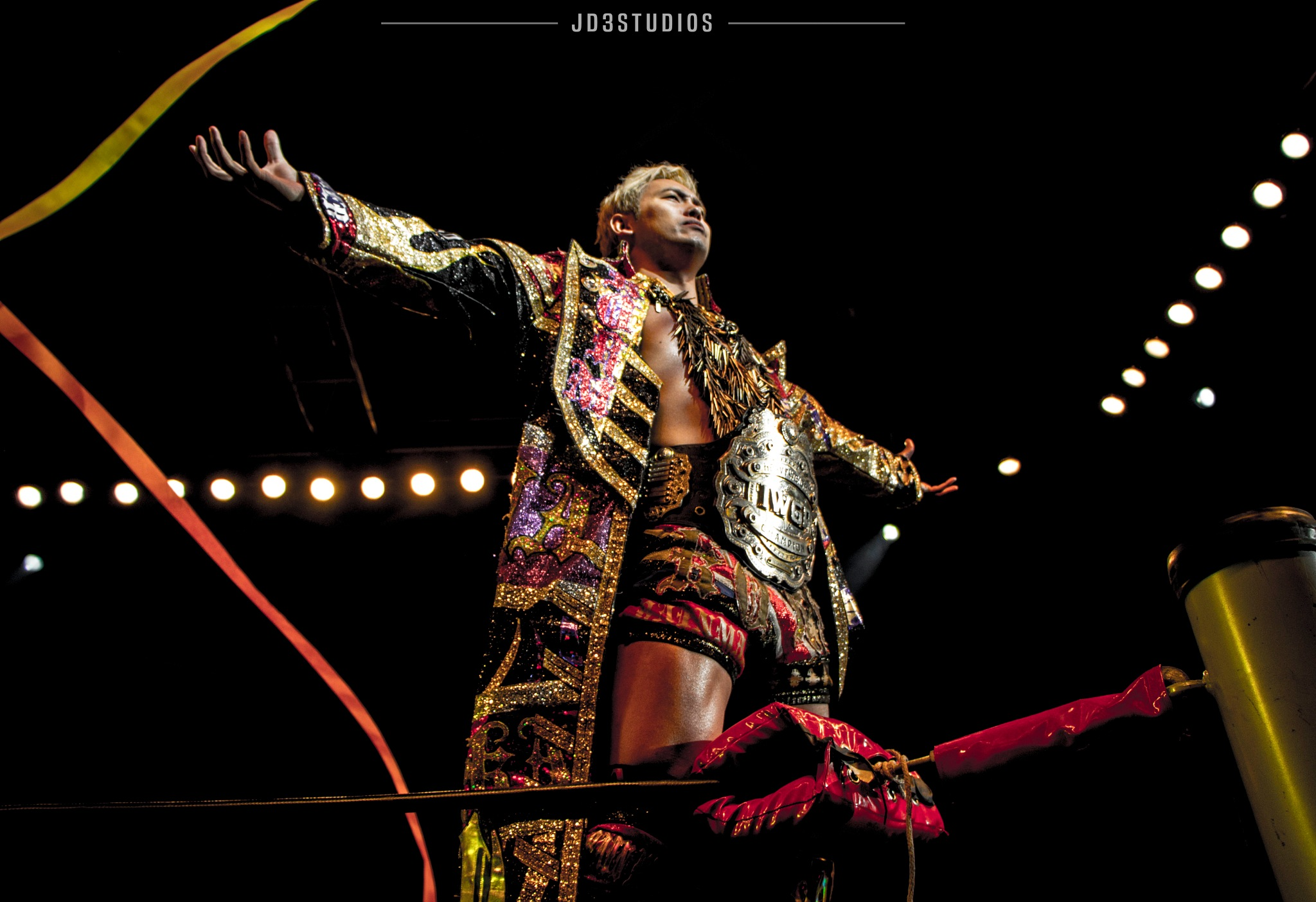 Former IWGP Heavyweight Champion - Kazuchika Okada by JD3Studios l Joseph DeFalco III