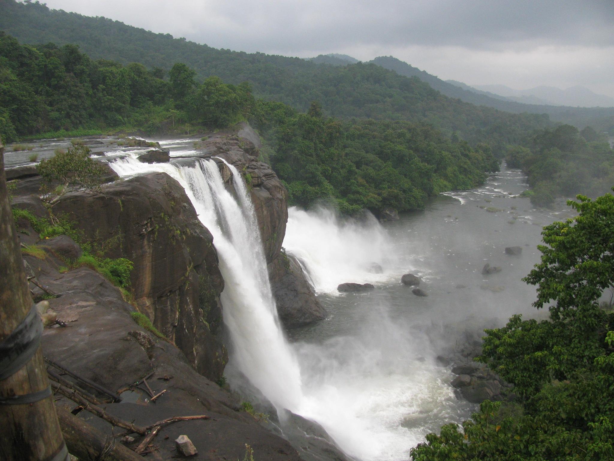 Waterfall by Ranjeet Menon
