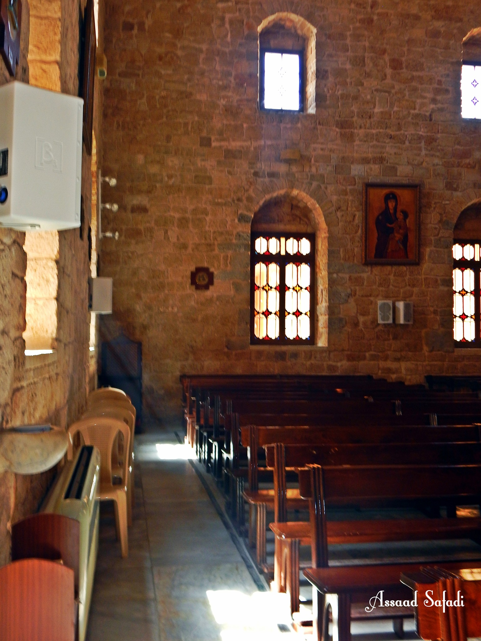 Maronite Church . tyre city south lebanon .. by Assaad M Safadi