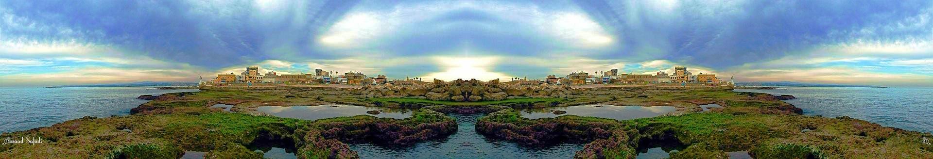 Tyre city . by Assaad M Safadi