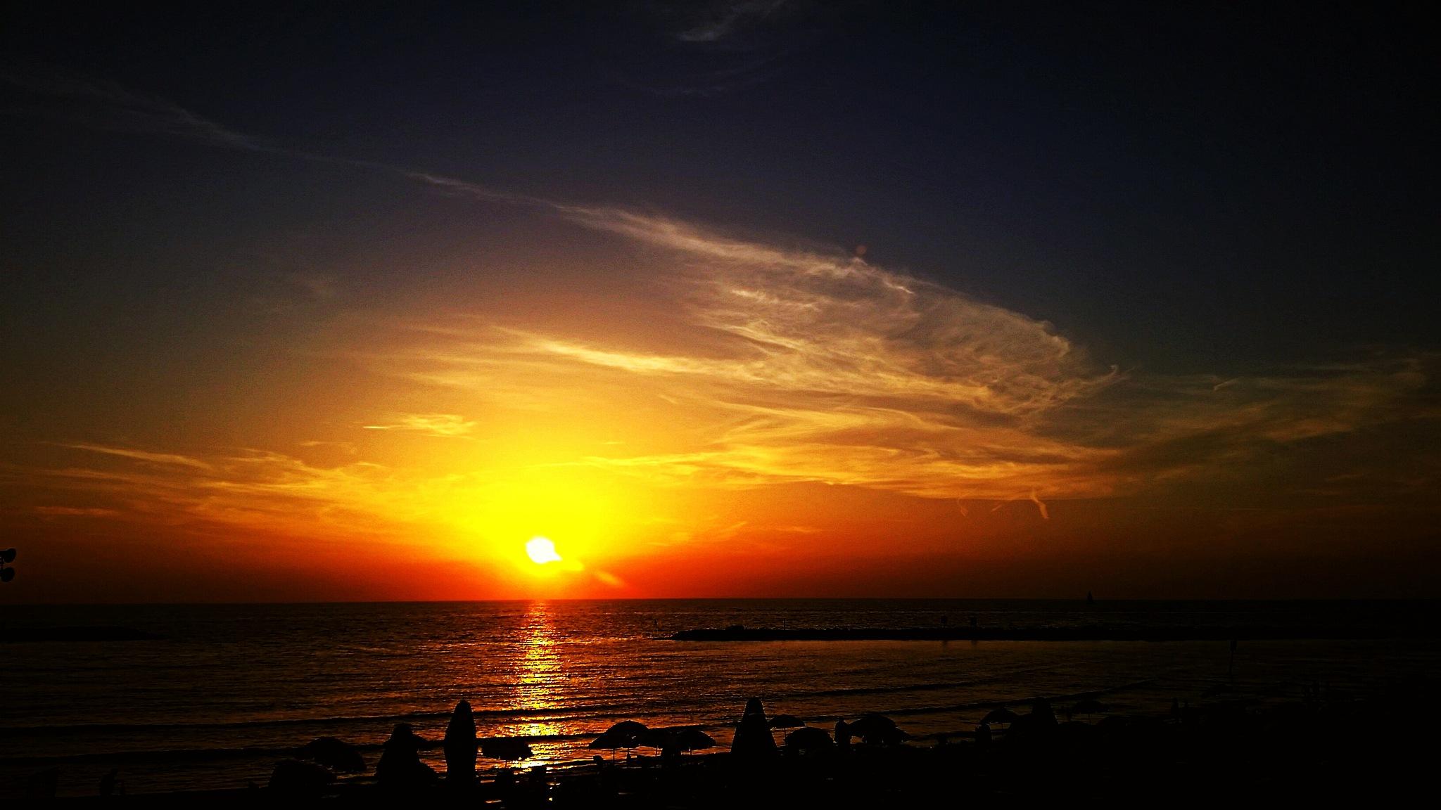 Good night Tel Aviv! by Gutfreund Lia
