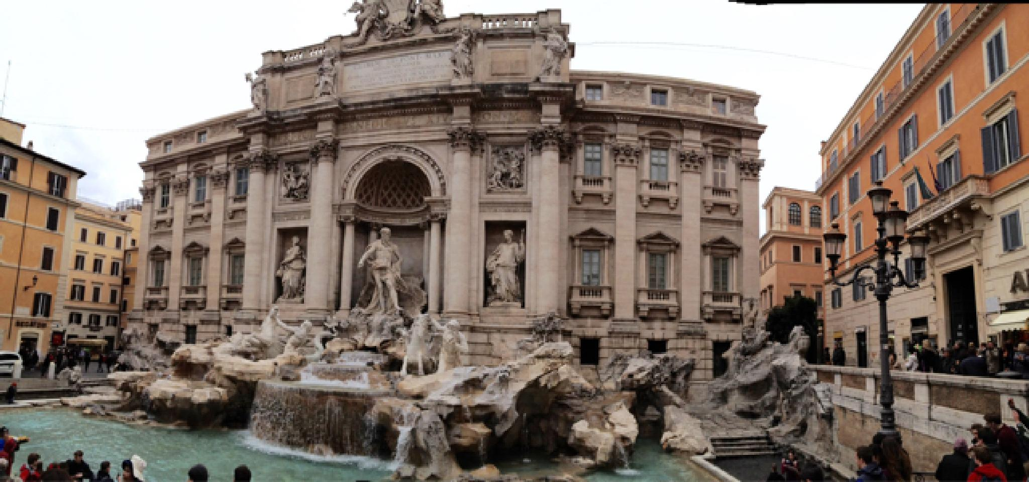 Trevi Fountain by audreychui