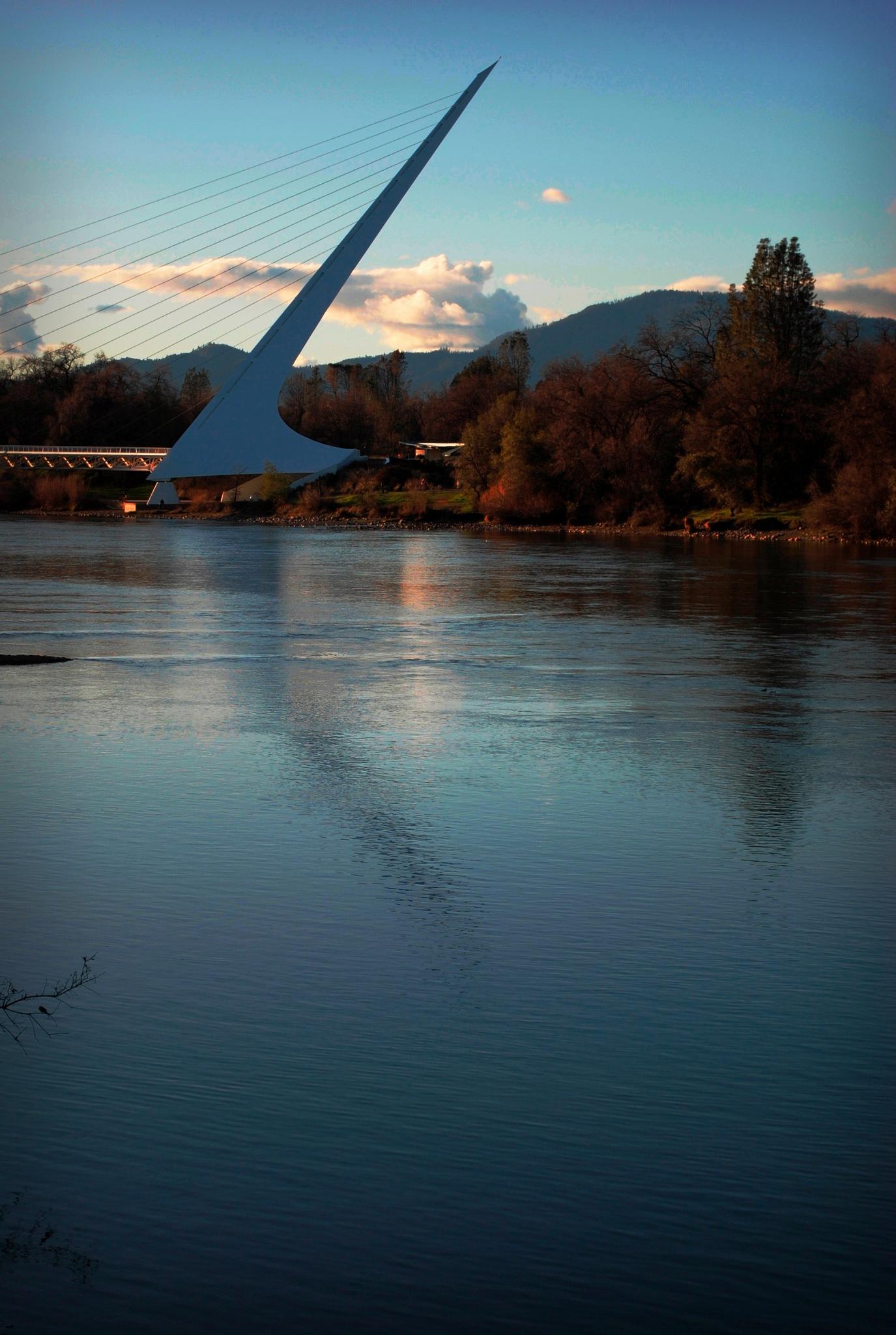 Sundial Bridge by Morgan Garcia