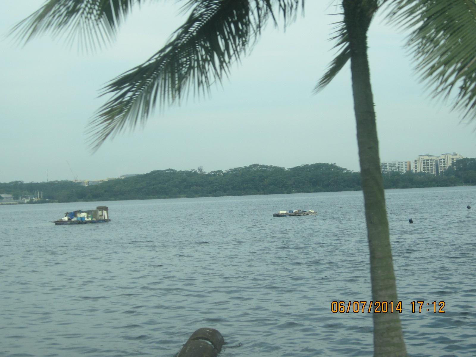 Sea view of Johor Bahru, Malaysia by amie