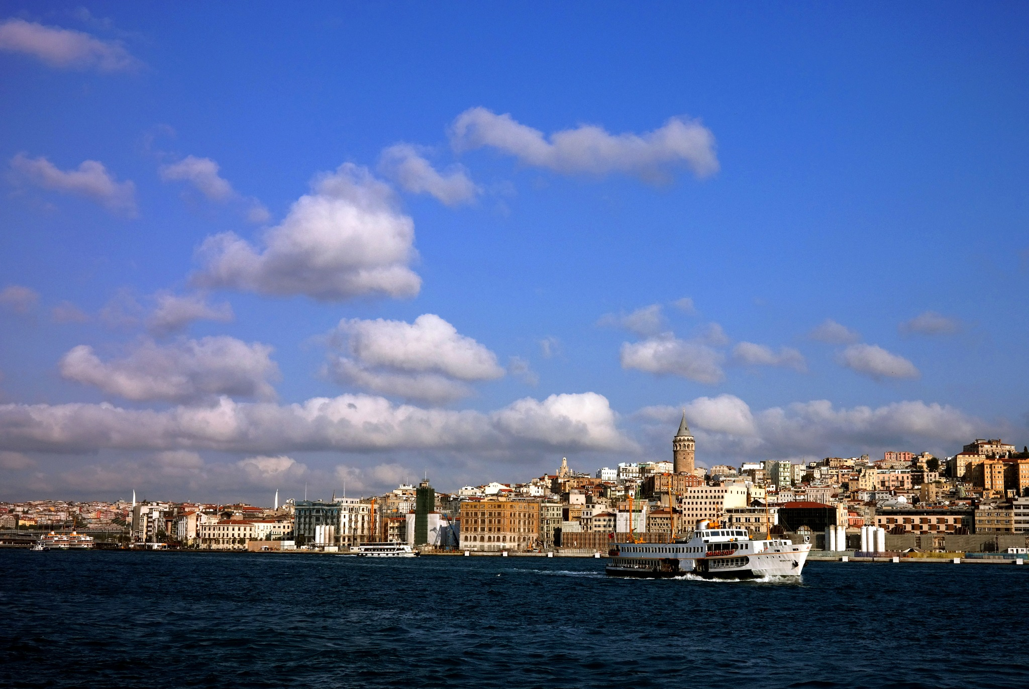 clouds over the city in this morning by Muhsin Özcan