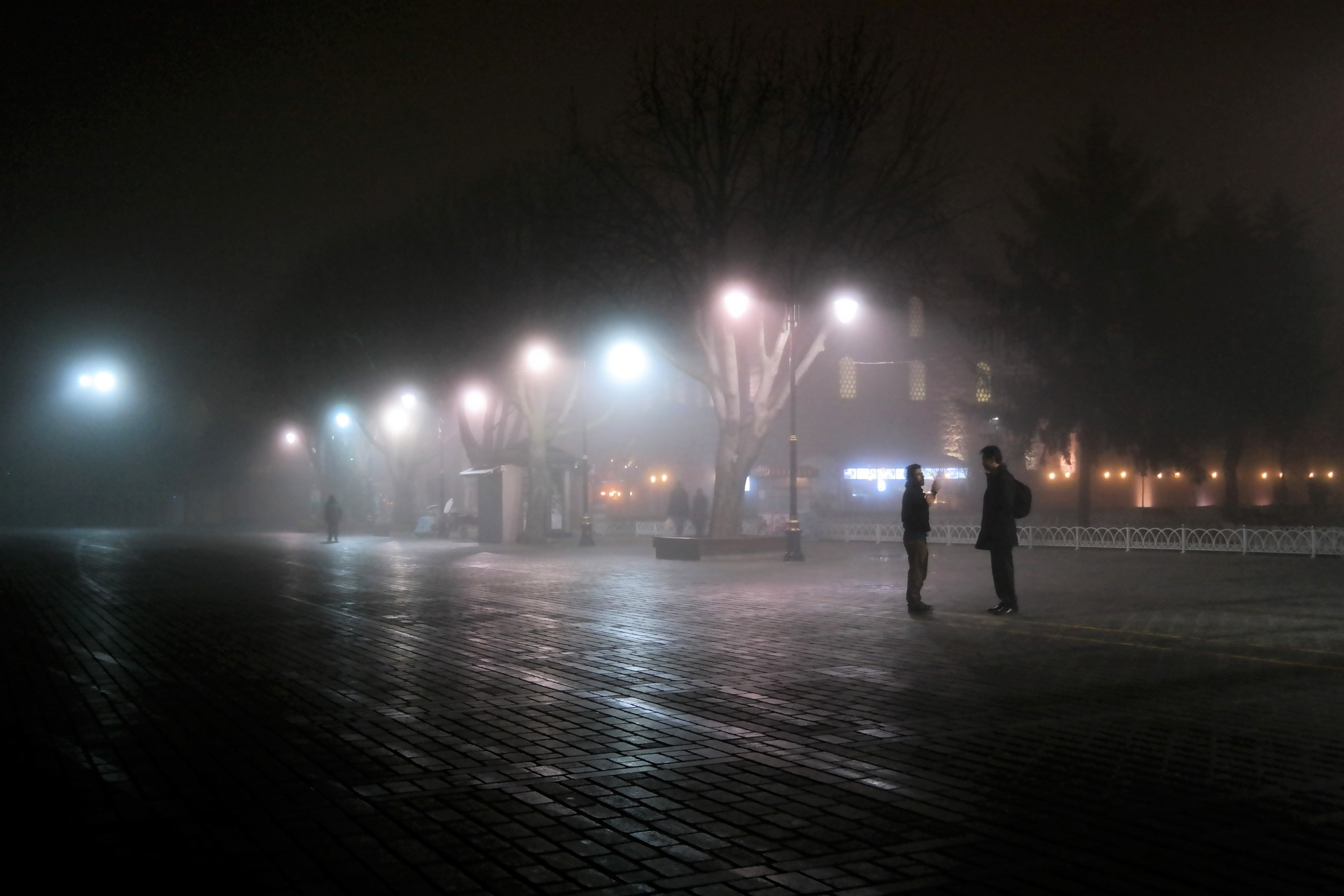 late evening fog by Muhsin Özcan