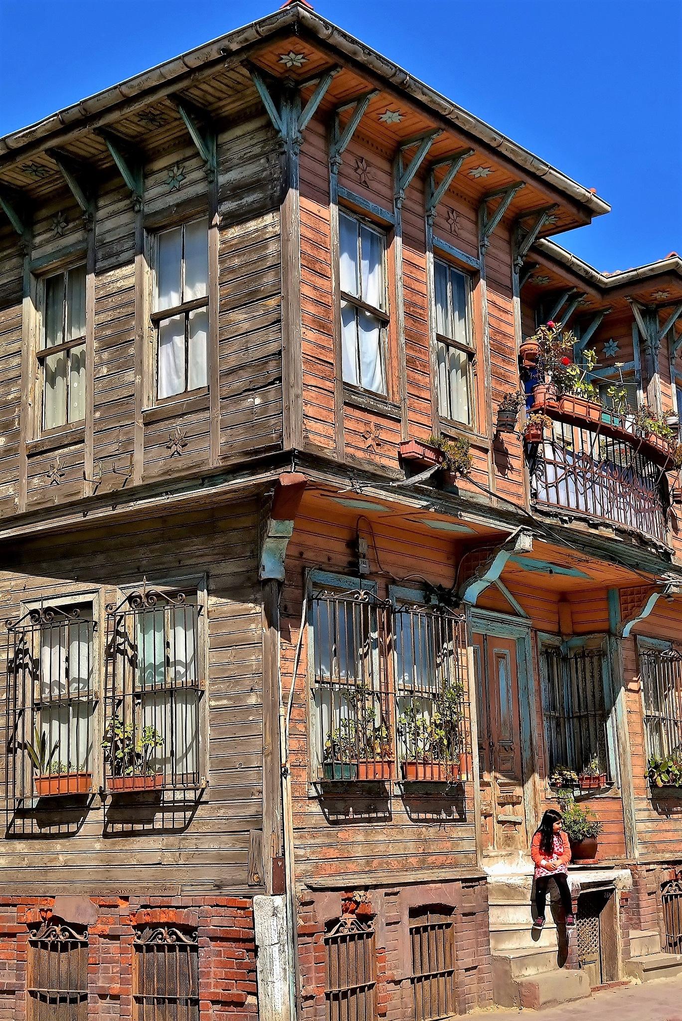 the old house by Muhsin Özcan