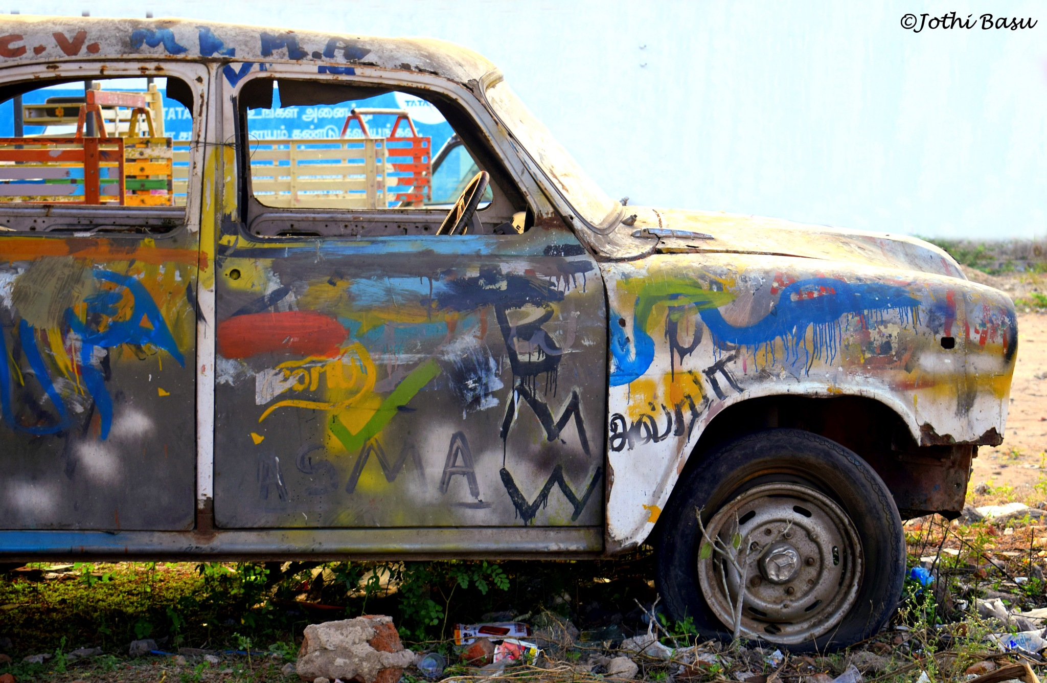 Beyond car.. by Jothi Basu