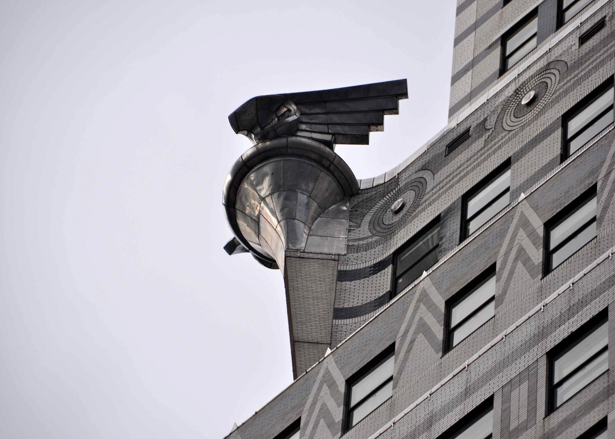 Chrysler Building (detail) by kfboland125