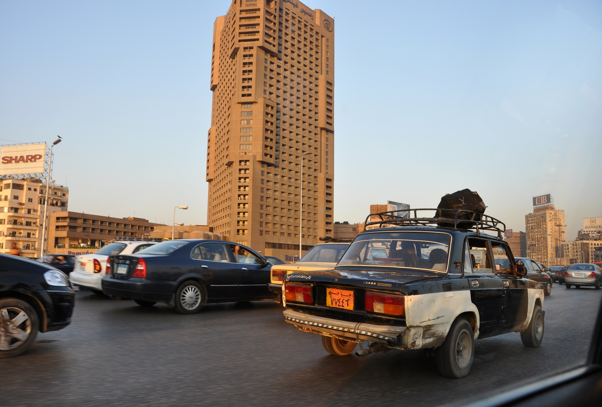 Cairo Traffic by kfboland125