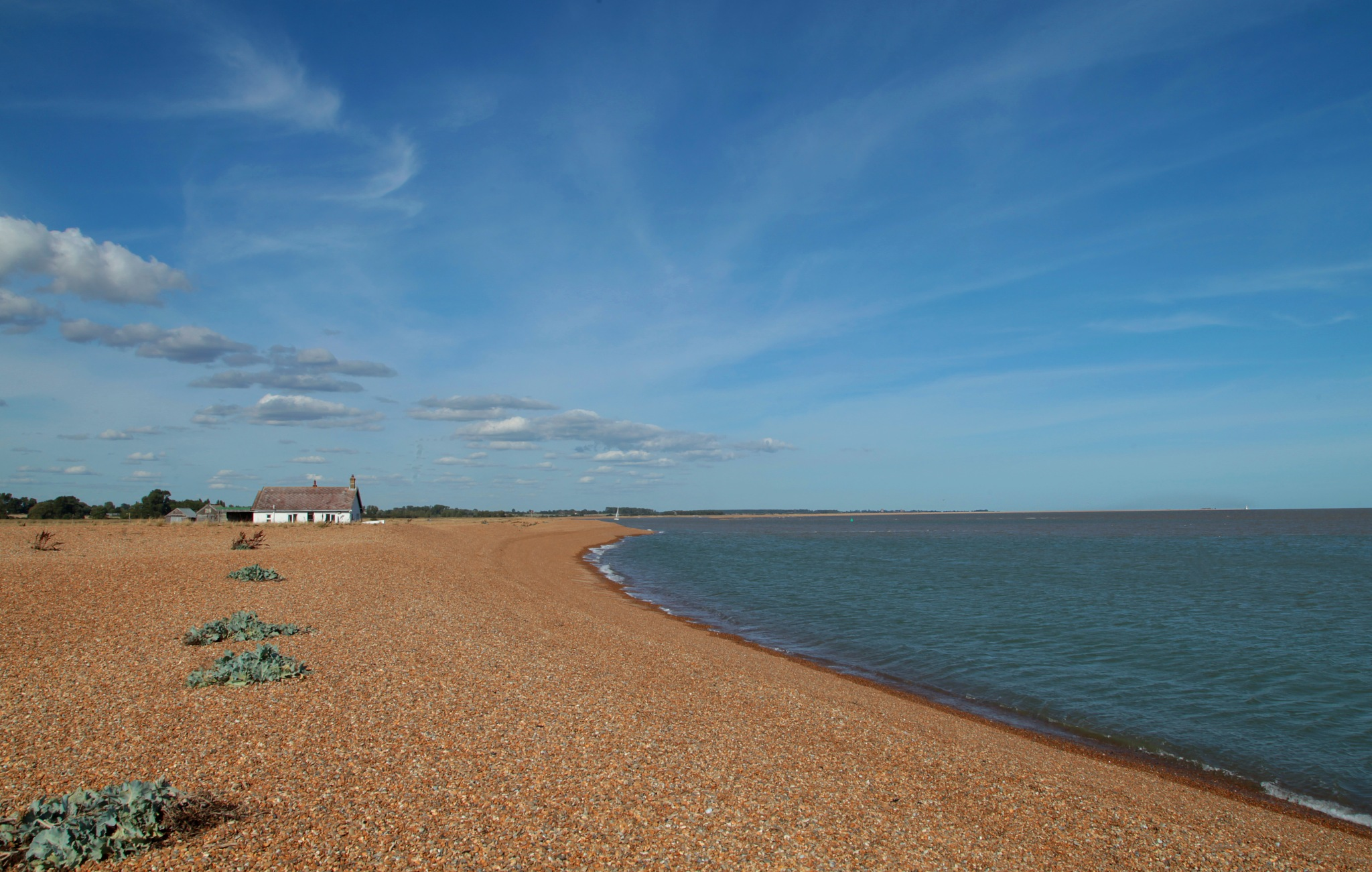 Shingle Street, Suffolk. by viages