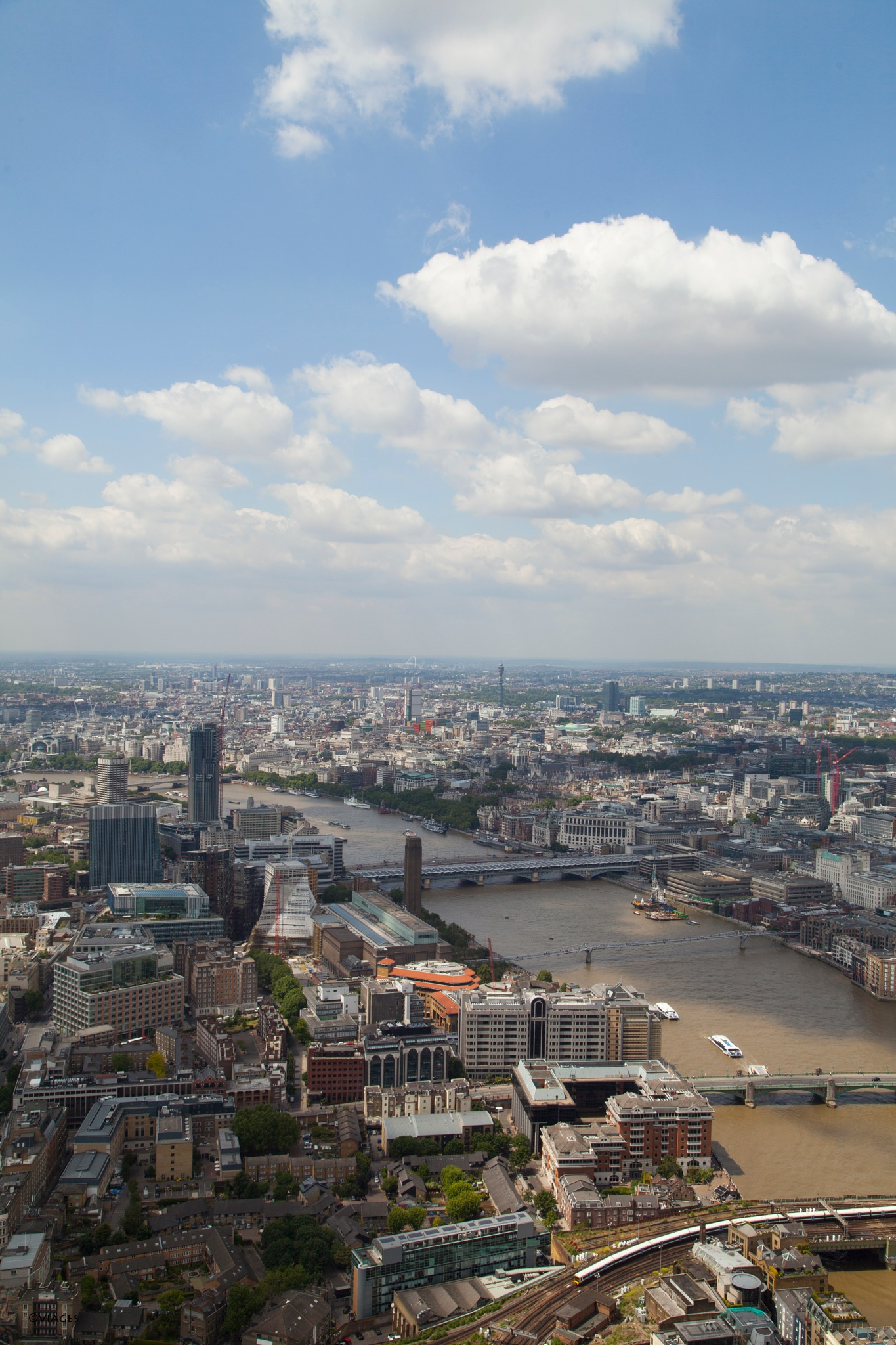 View from the Shard by viages