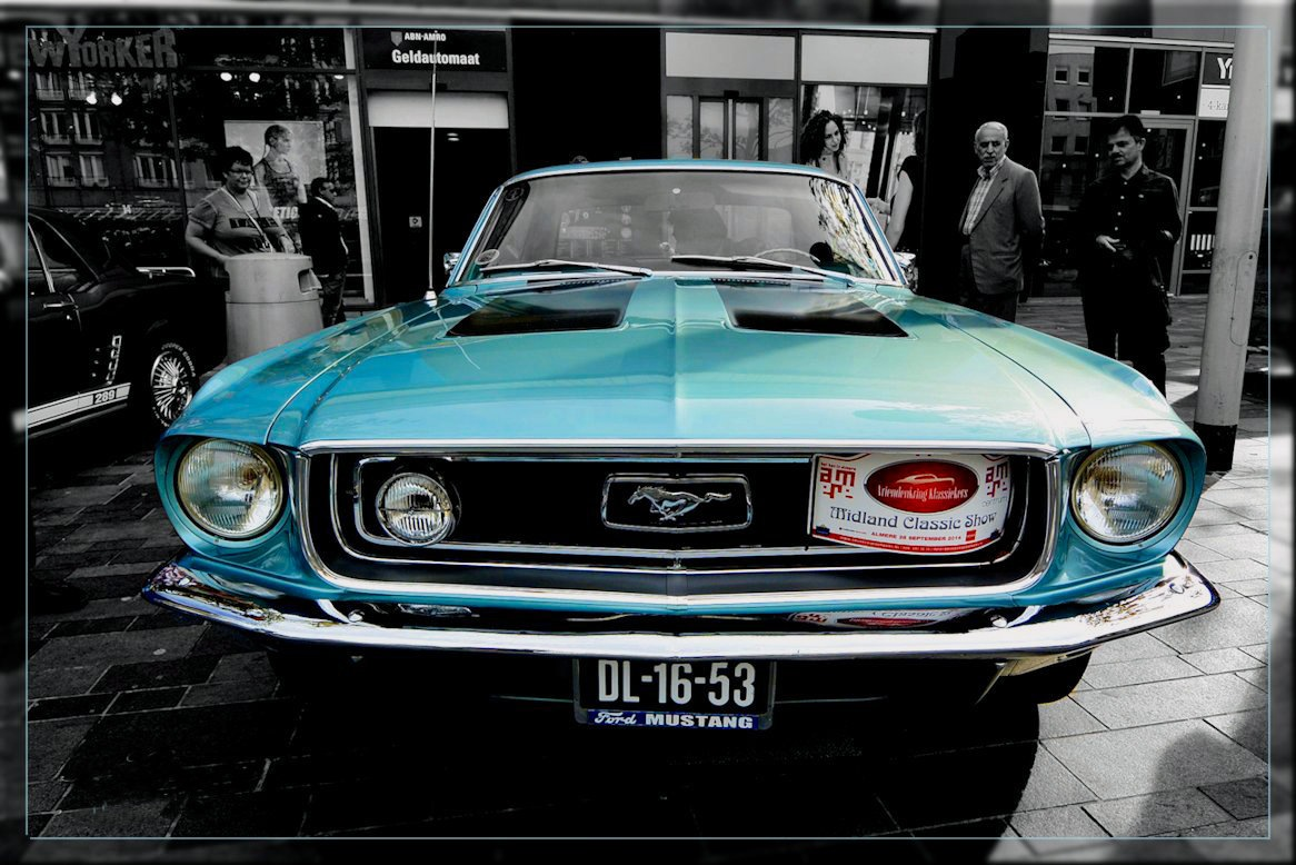 Ford Mustang by Almere photography