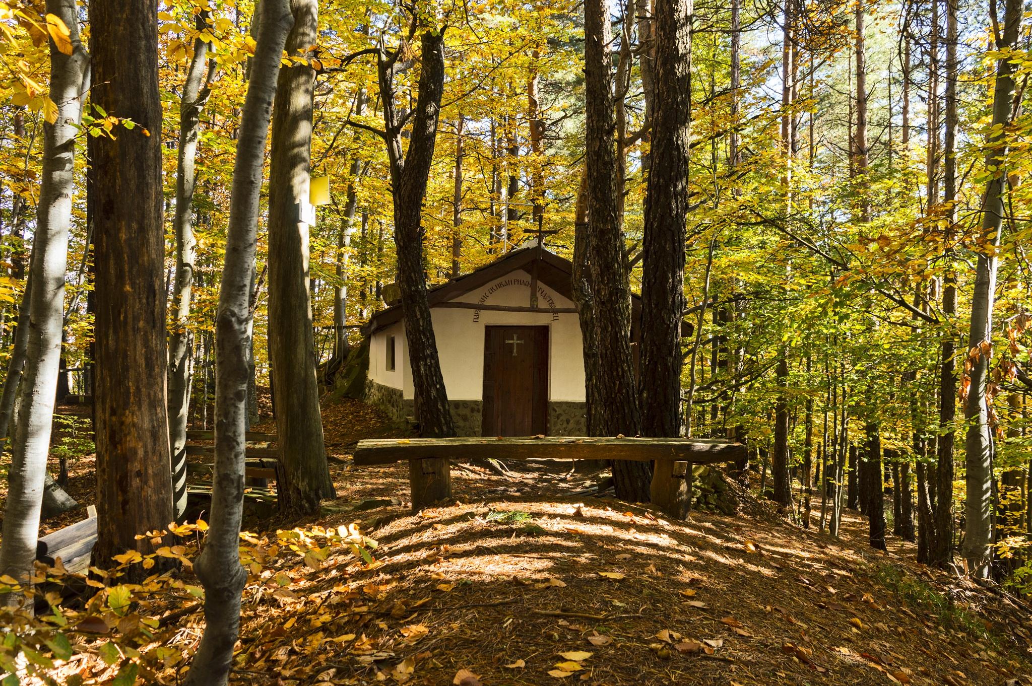 A chapel by airfan