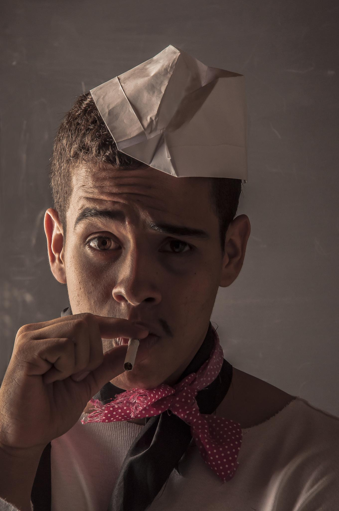Cantinflas by Andres Grajales