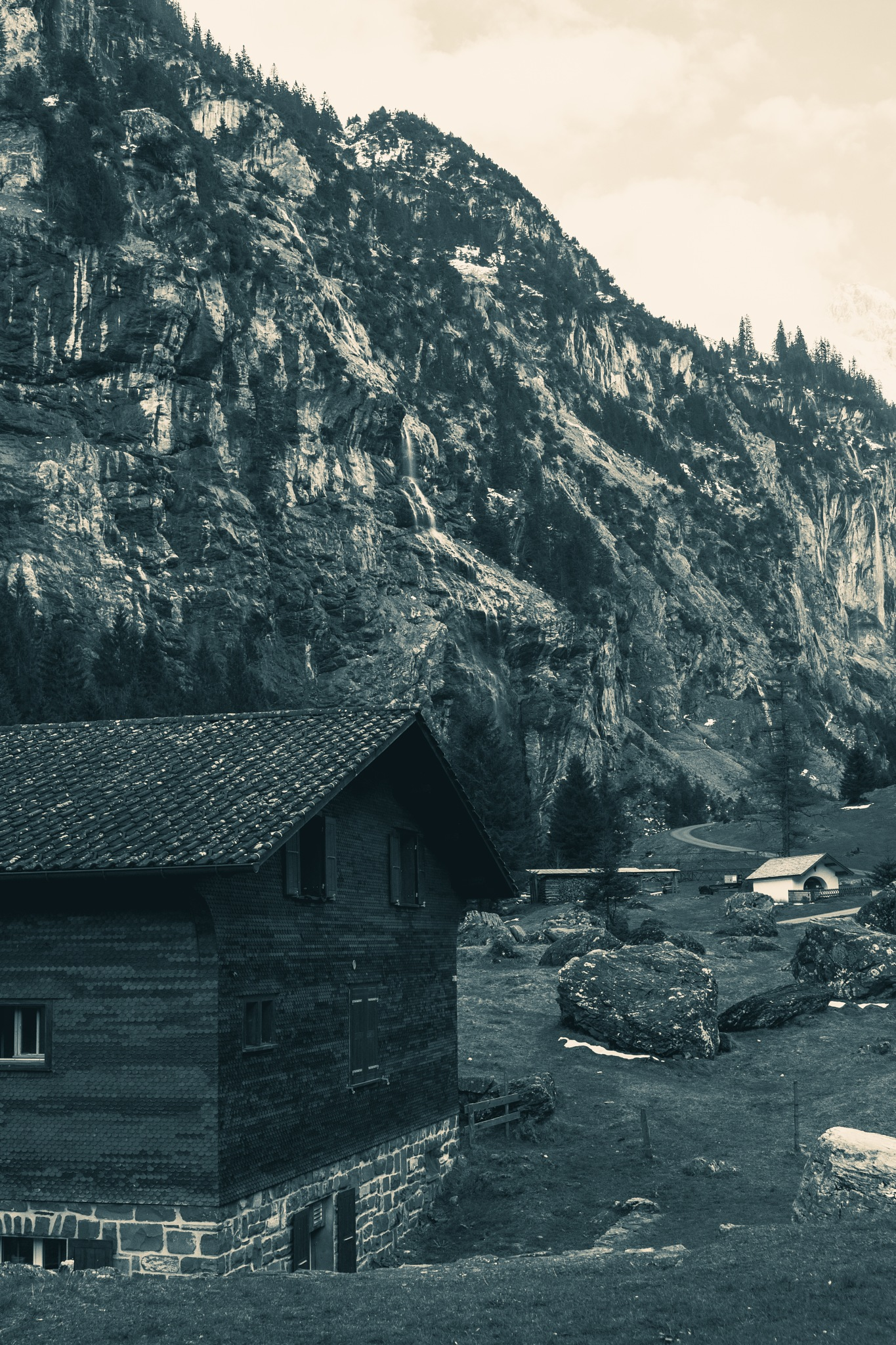 House in the Alps by Tobias Egger