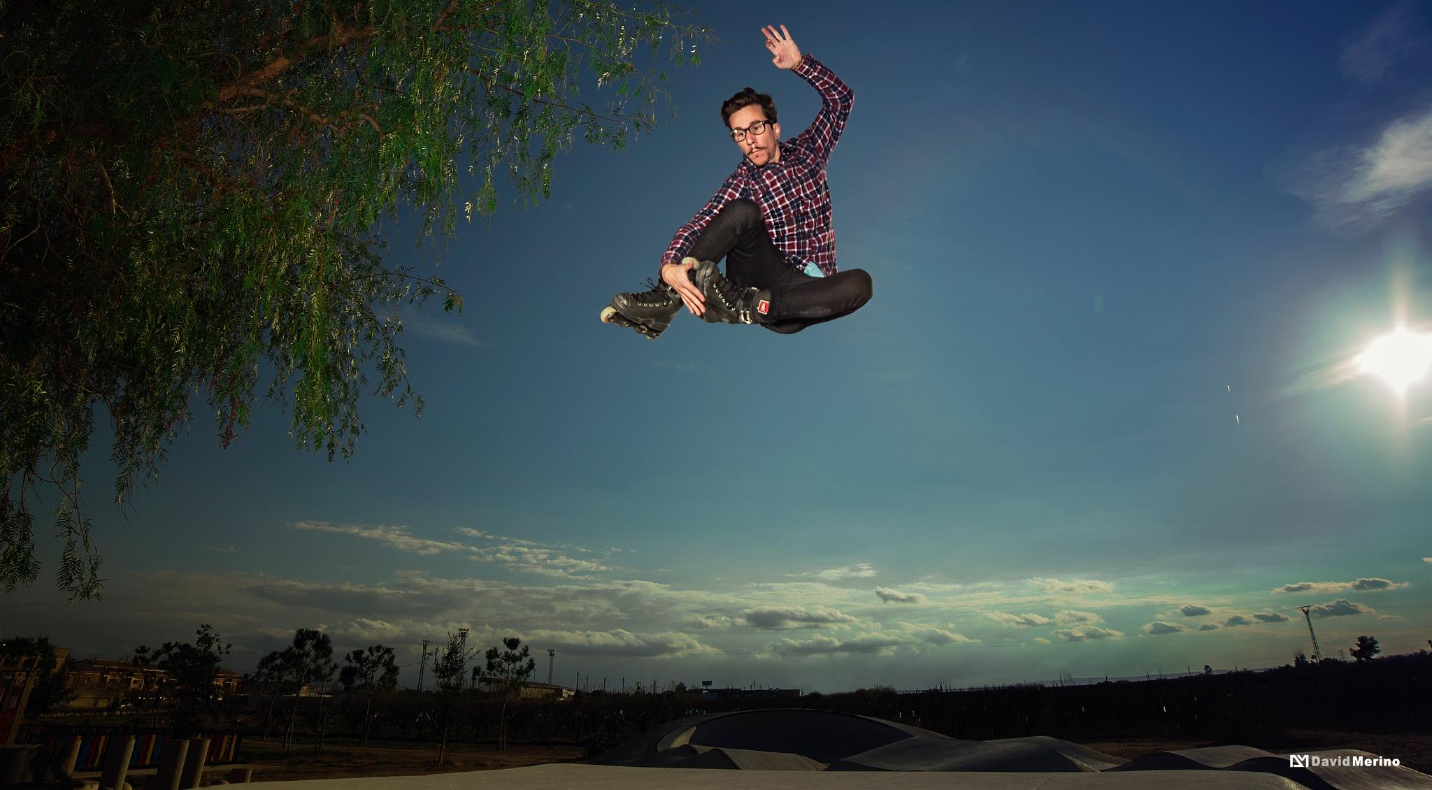 Inline Jump by merinofotografia
