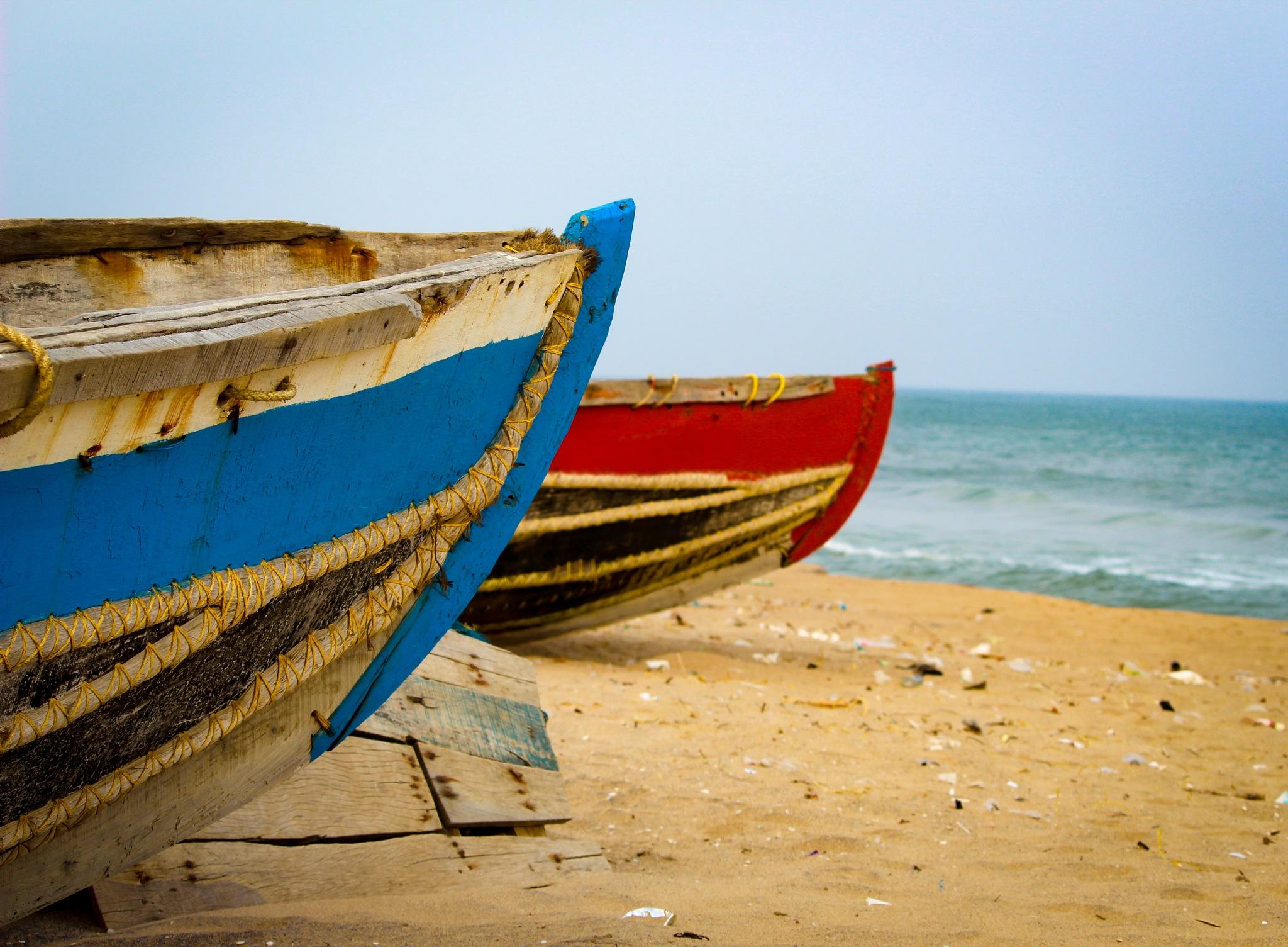 Boats by Deena Lingarajan