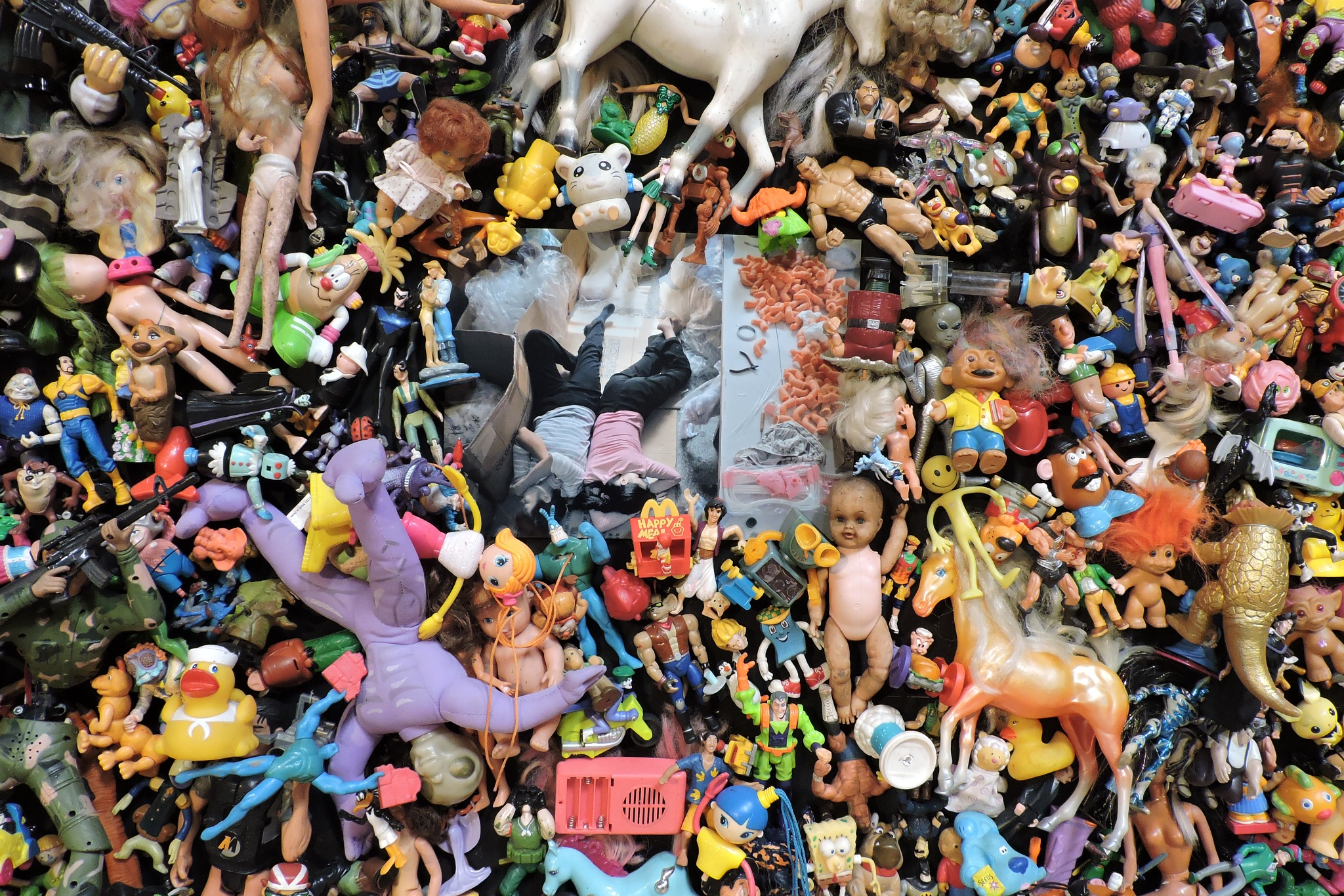 Michael Wolf, The Real Toy Story | Les Rencontres de la photographie, Arles by Ana Botelho