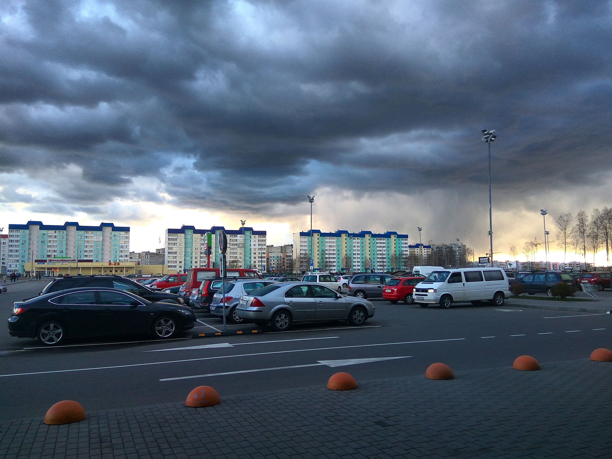 Photo in Landscape #rain #april #cloud