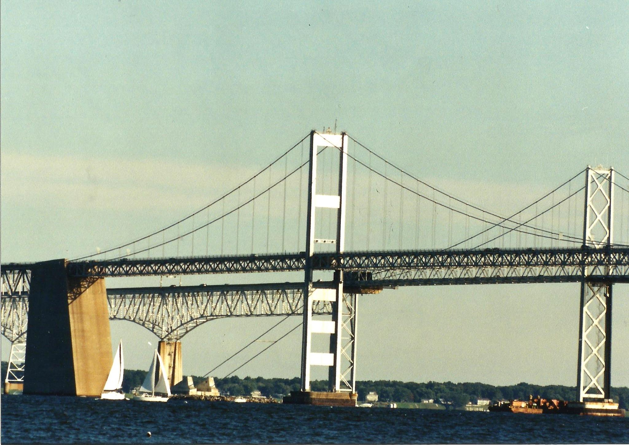 THE CHESAPEAKE BAY BRIDGE by Hope Atwood Dayhoff