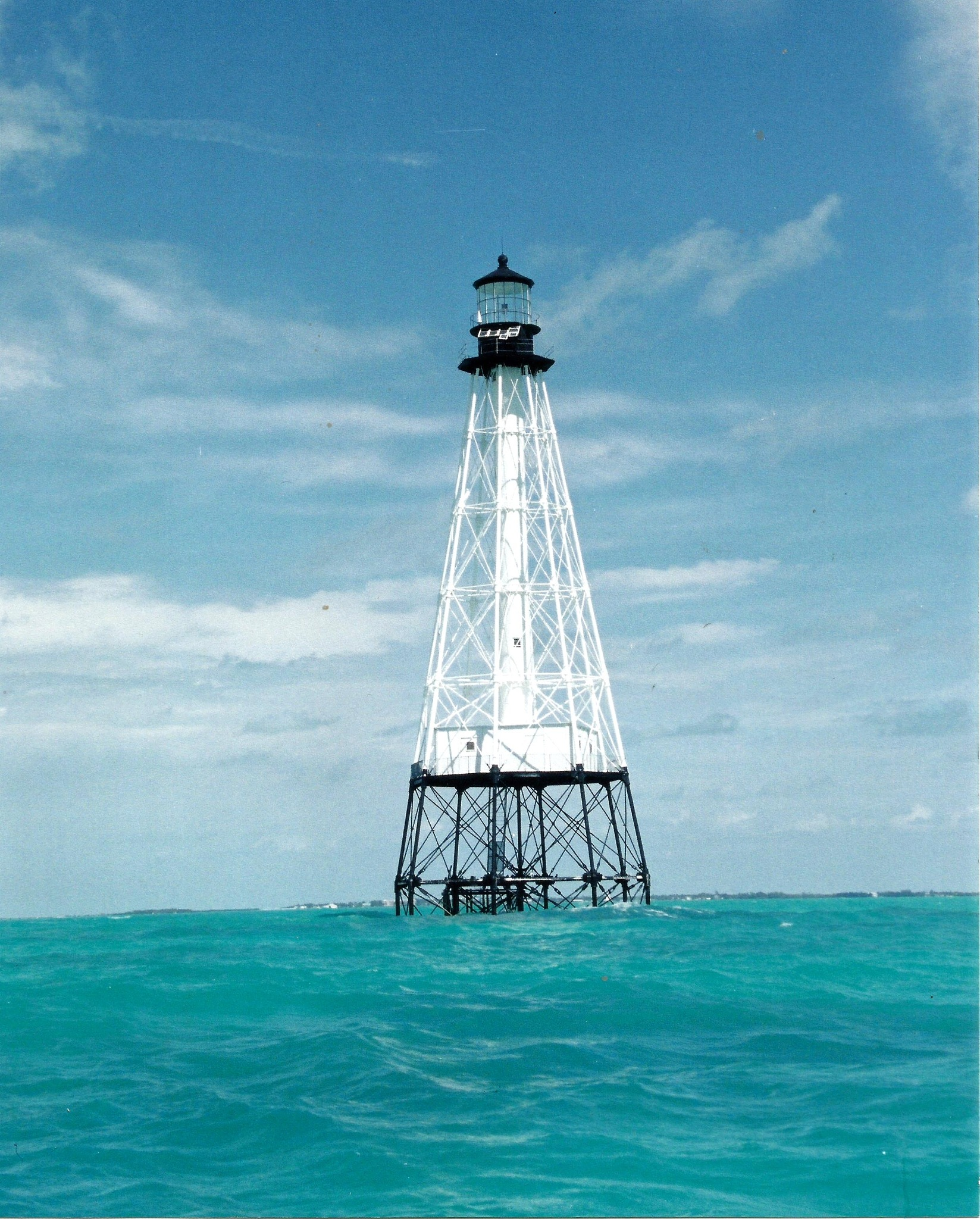 ALLIGATOR REEF LIGHTHOUSE by Hope Atwood Dayhoff
