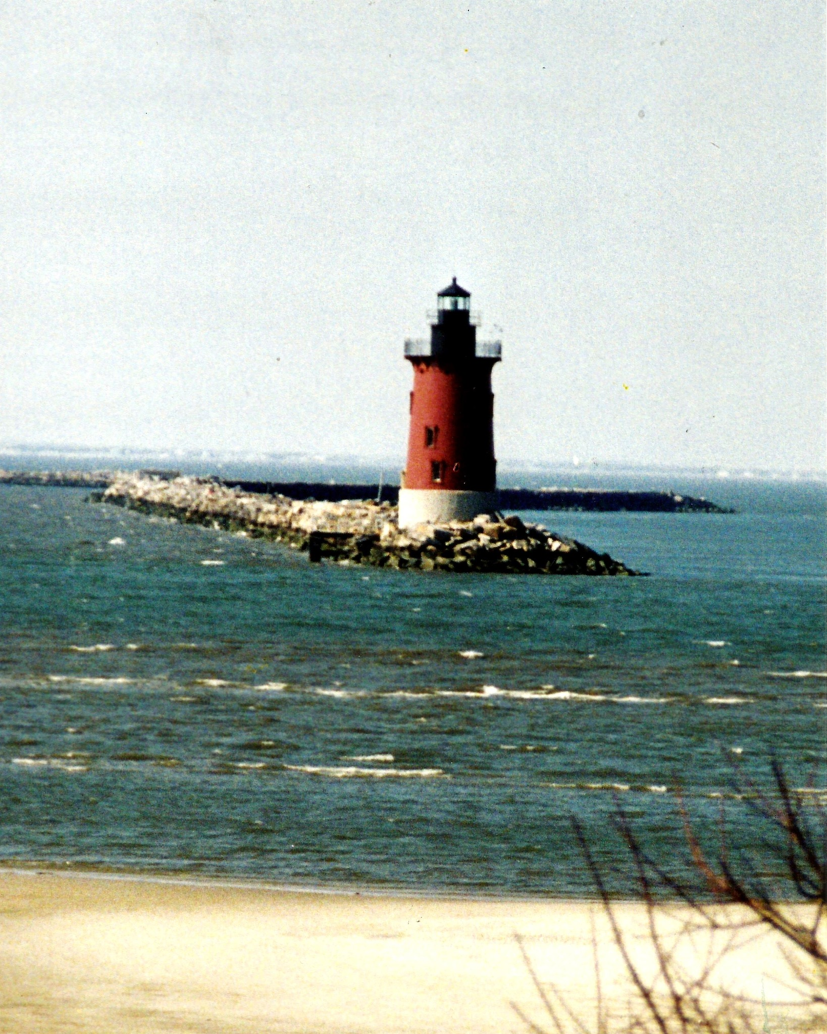 CAPE HENLOPEN'S LIGHTHOUSE by Hope Atwood Dayhoff