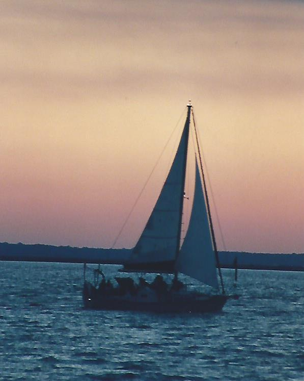 SAILORS SUNSET by Hope Atwood Dayhoff