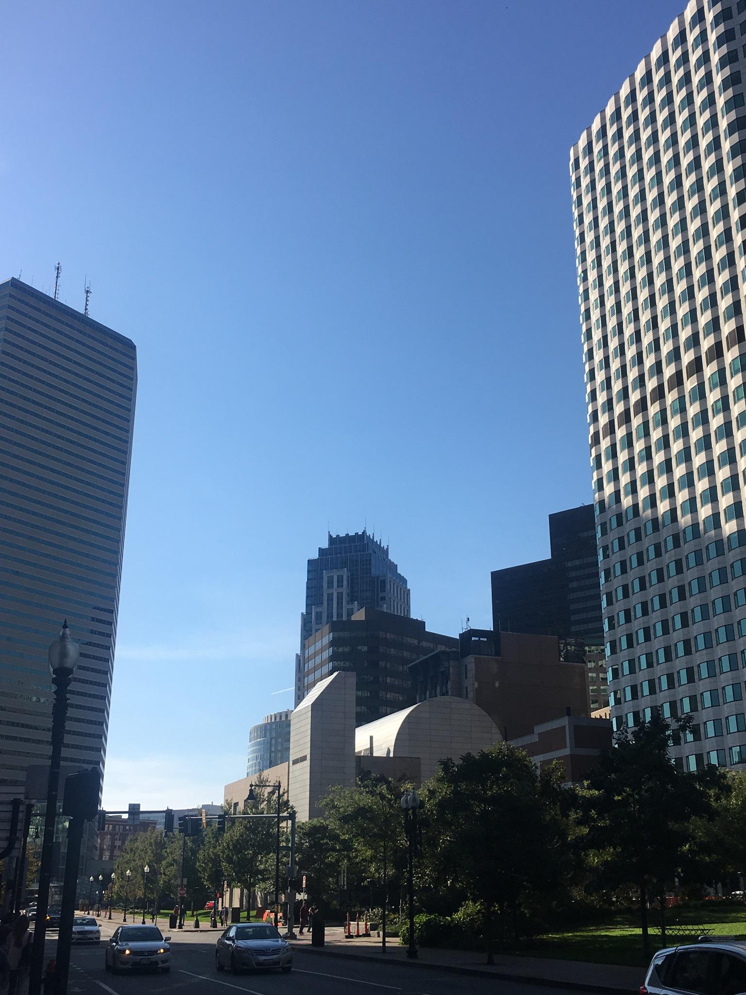 Downtown Boston  by Roxie