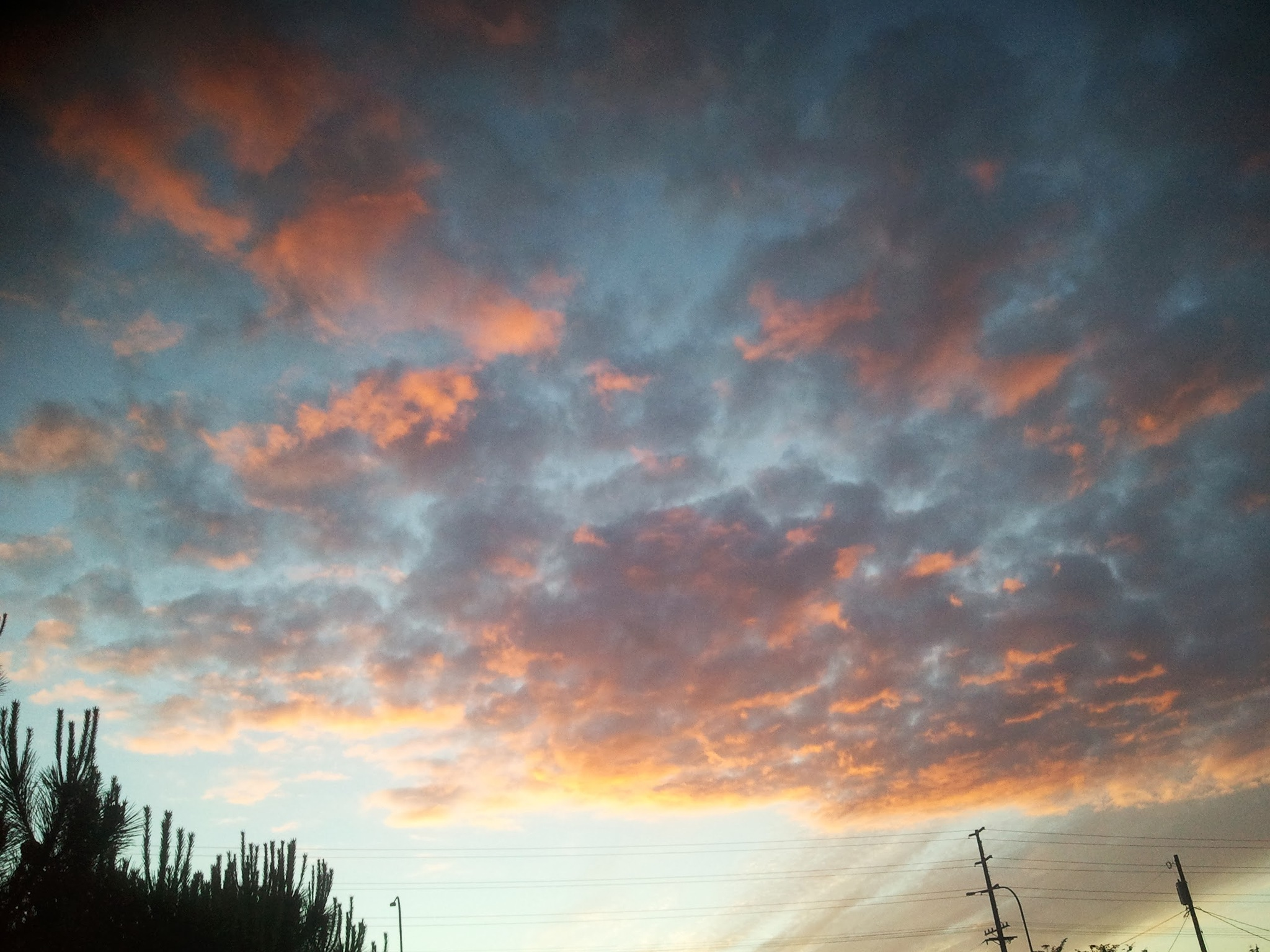 Sunset at the trailer park by Frme2know
