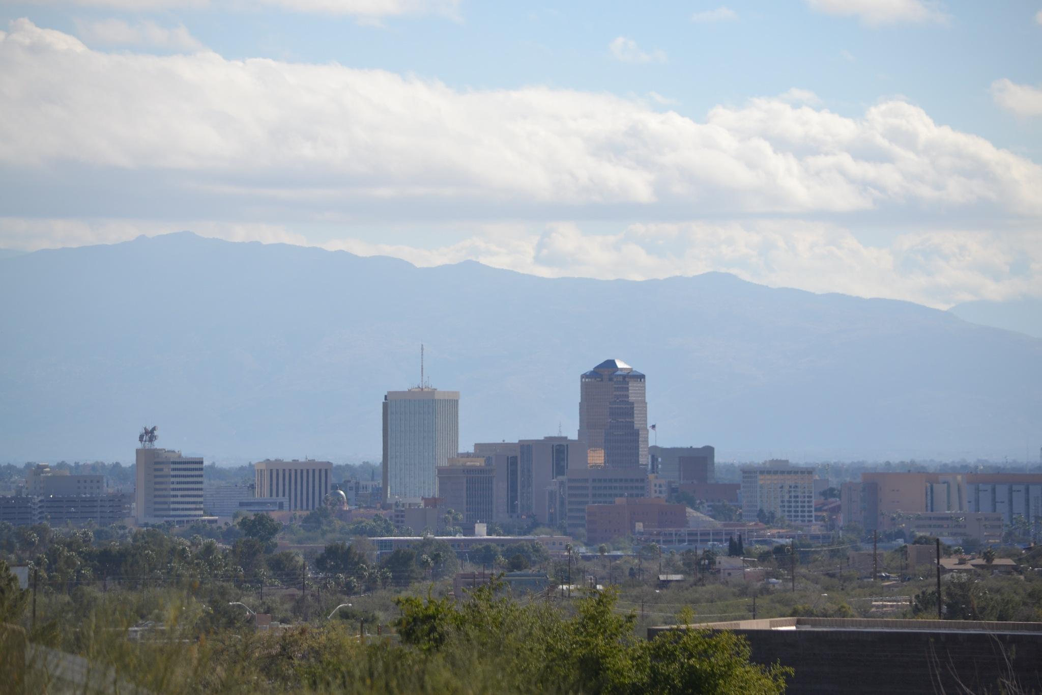 Tucson Arizona on a Summers Day by TucsonHawk10