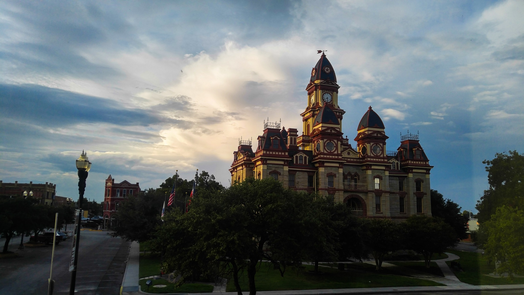 County Courthouse Lockhart Texas by Leamsi Lopez