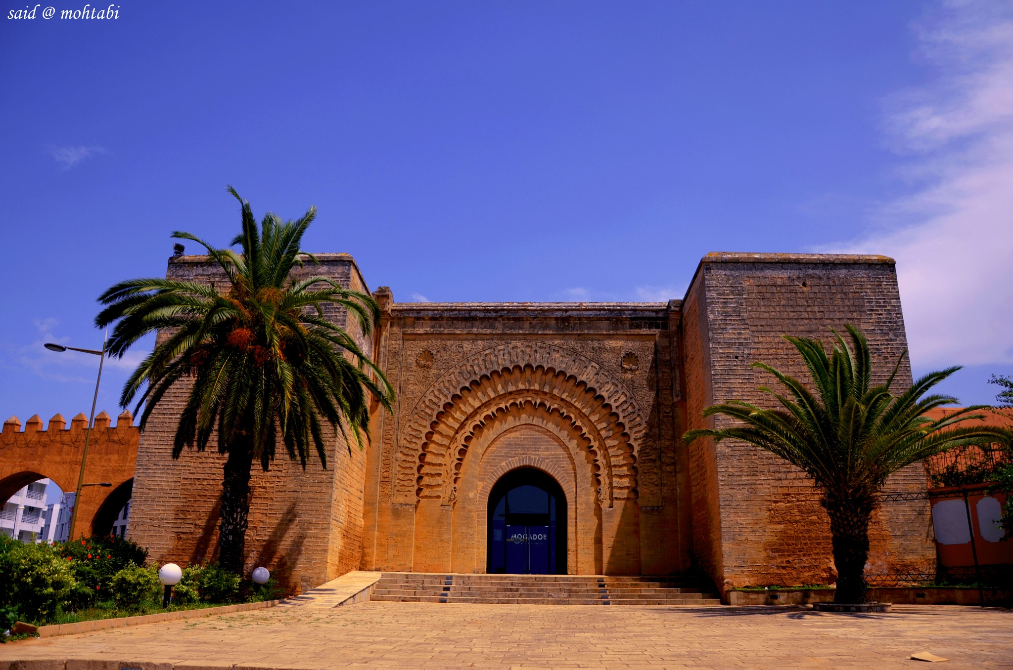 Bab rouah Museum rabat city by Said Mohtabi