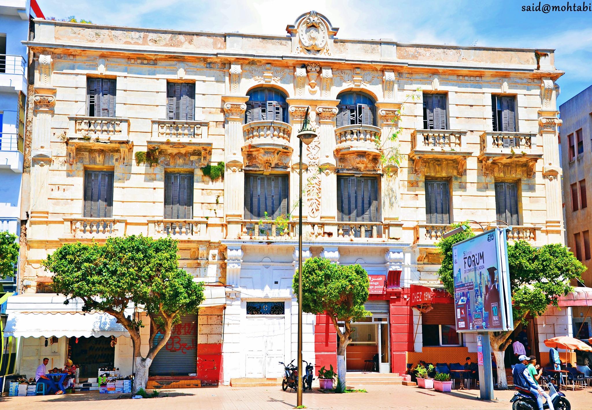 eljadida city morocco by Said Mohtabi
