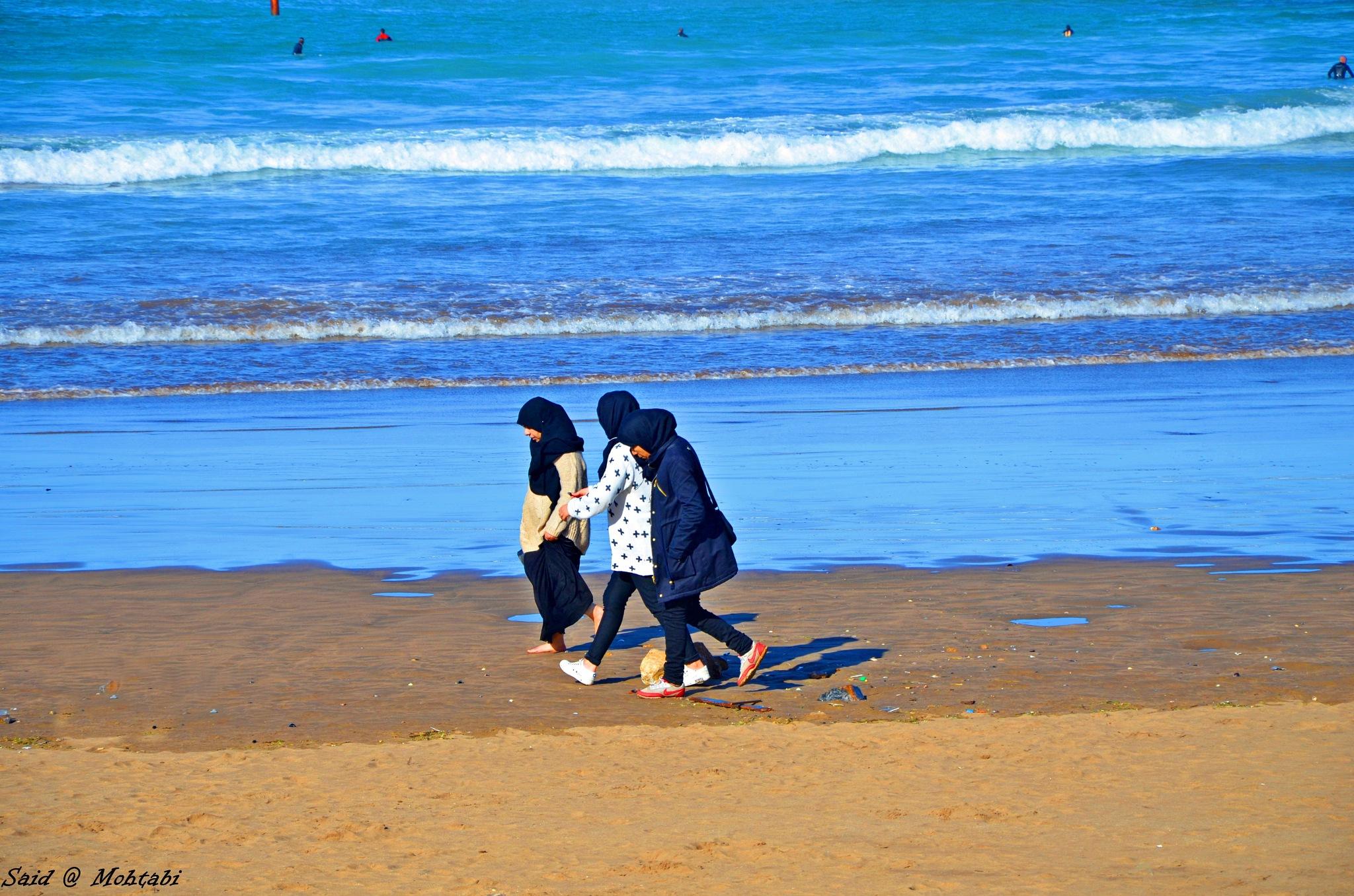 Rabat Beach Morocco by Said Mohtabi