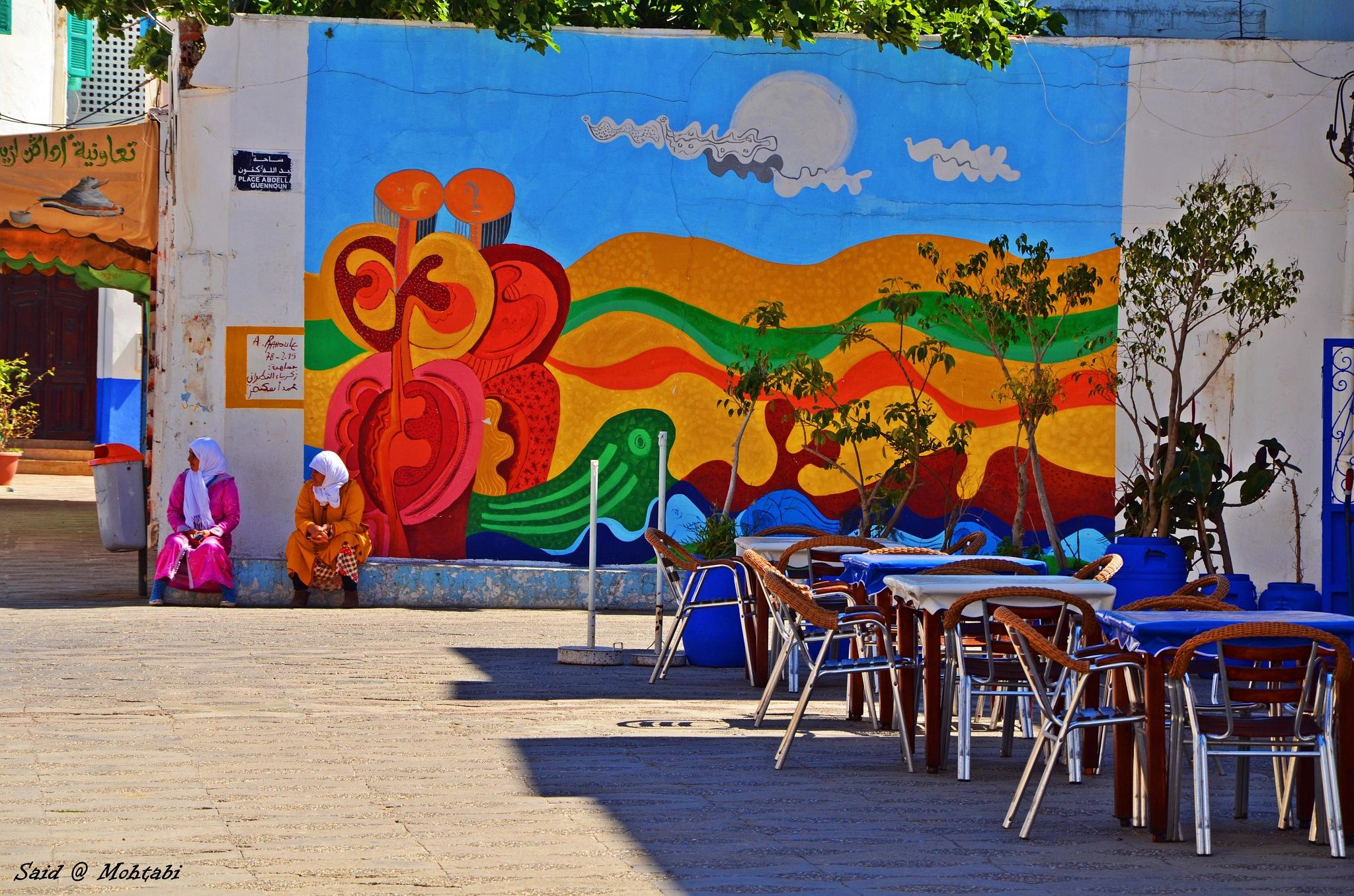 Asilah City Morocco by Said Mohtabi