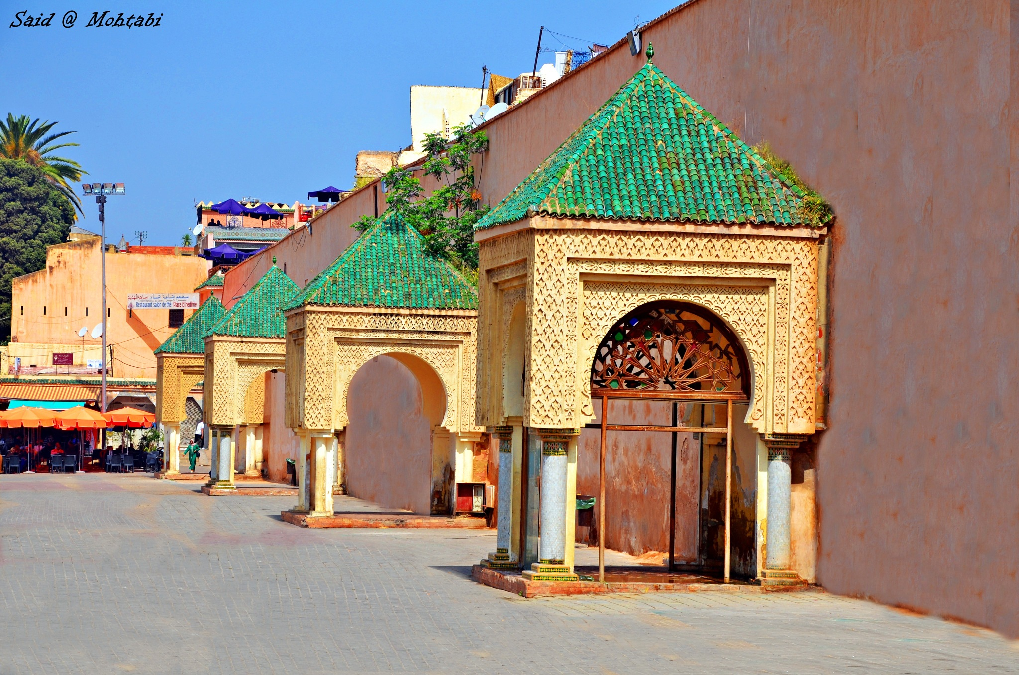 Meknes City Morocco by Said Mohtabi