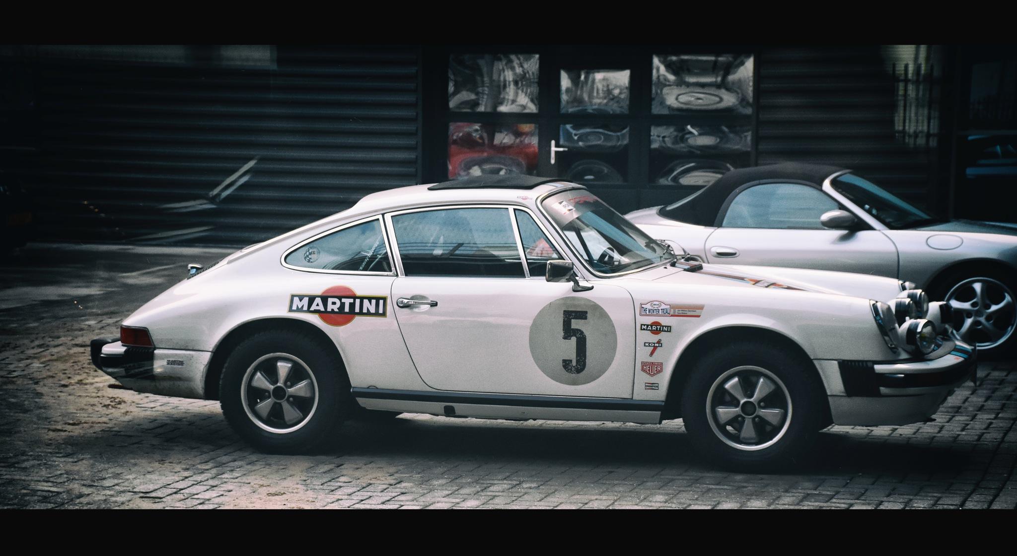 Rally Porsche 911 by Henk van der Hulst