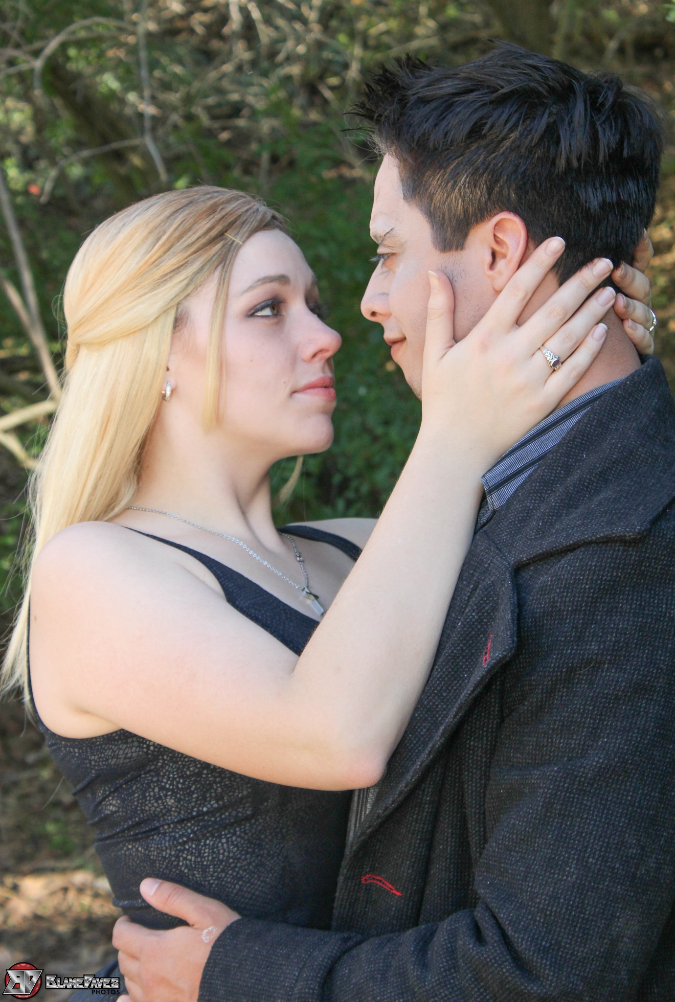Buffy and Angel cosplay by Dave Billett