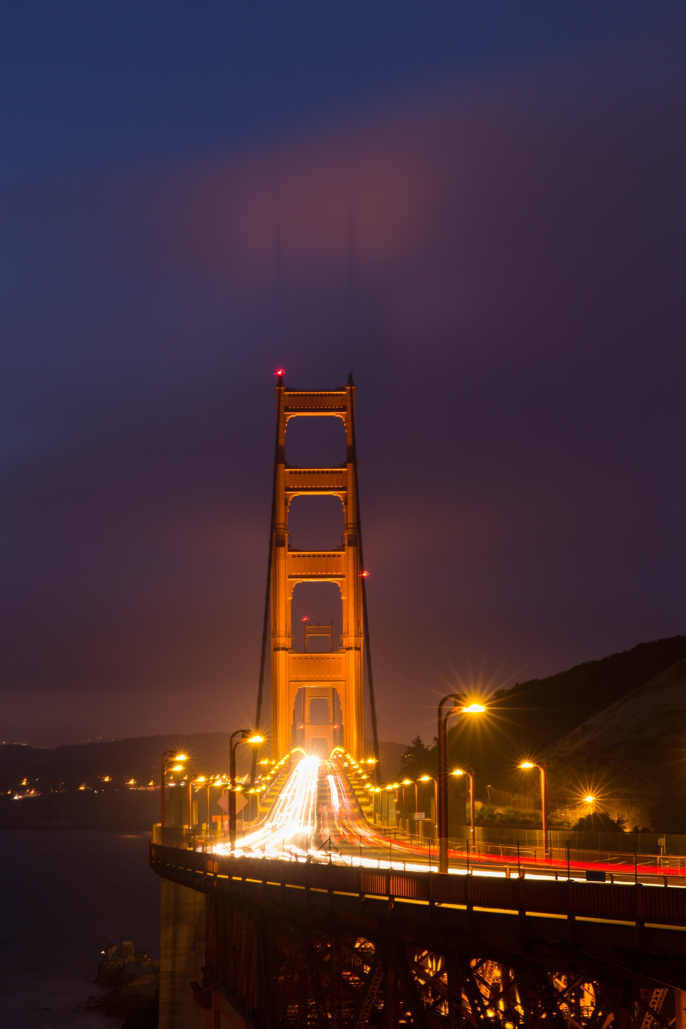 Twilight at Golden Gate Bridge by Dianachang