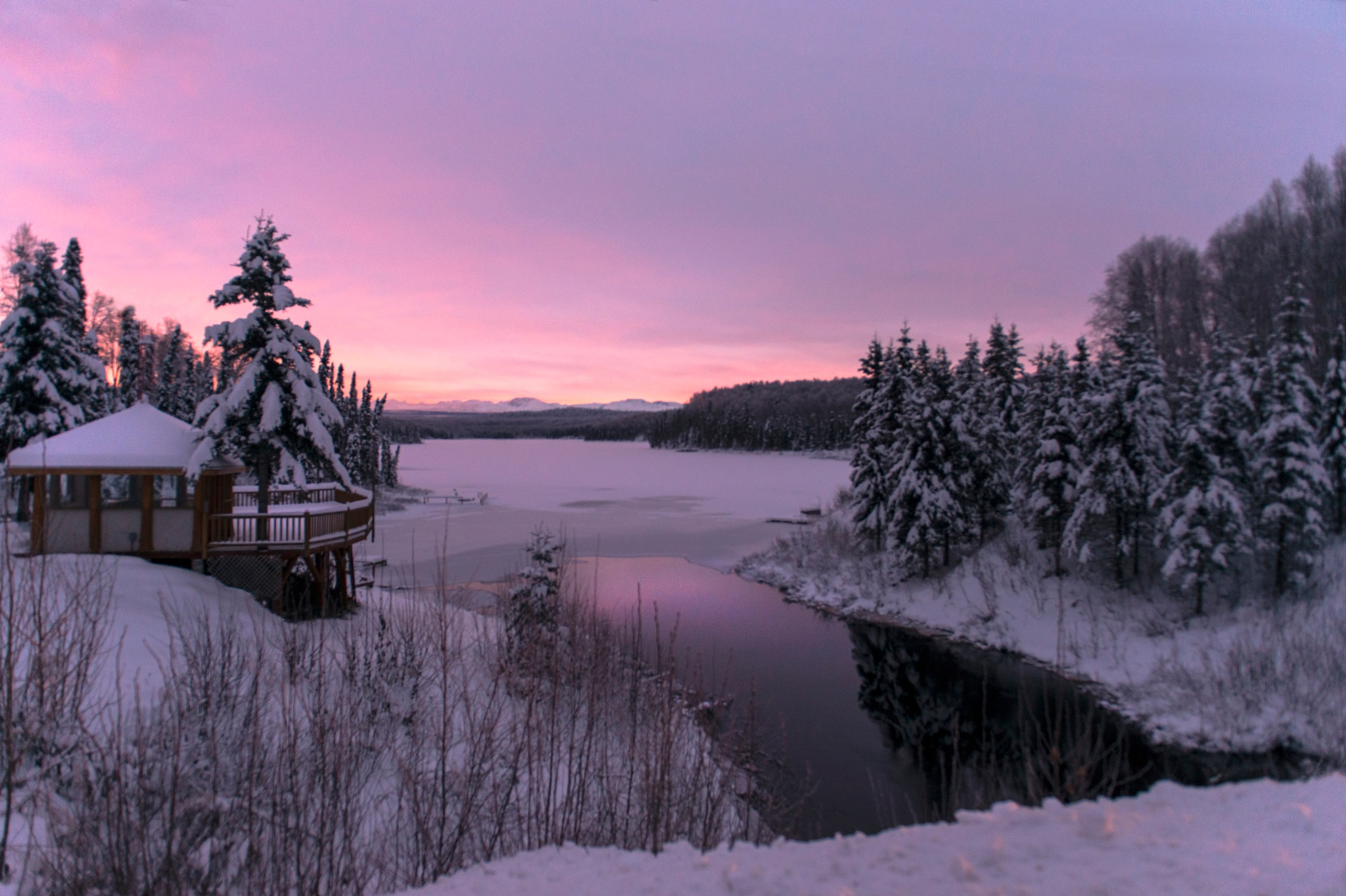 Alaskan Sunrise by Kevin Donnelly