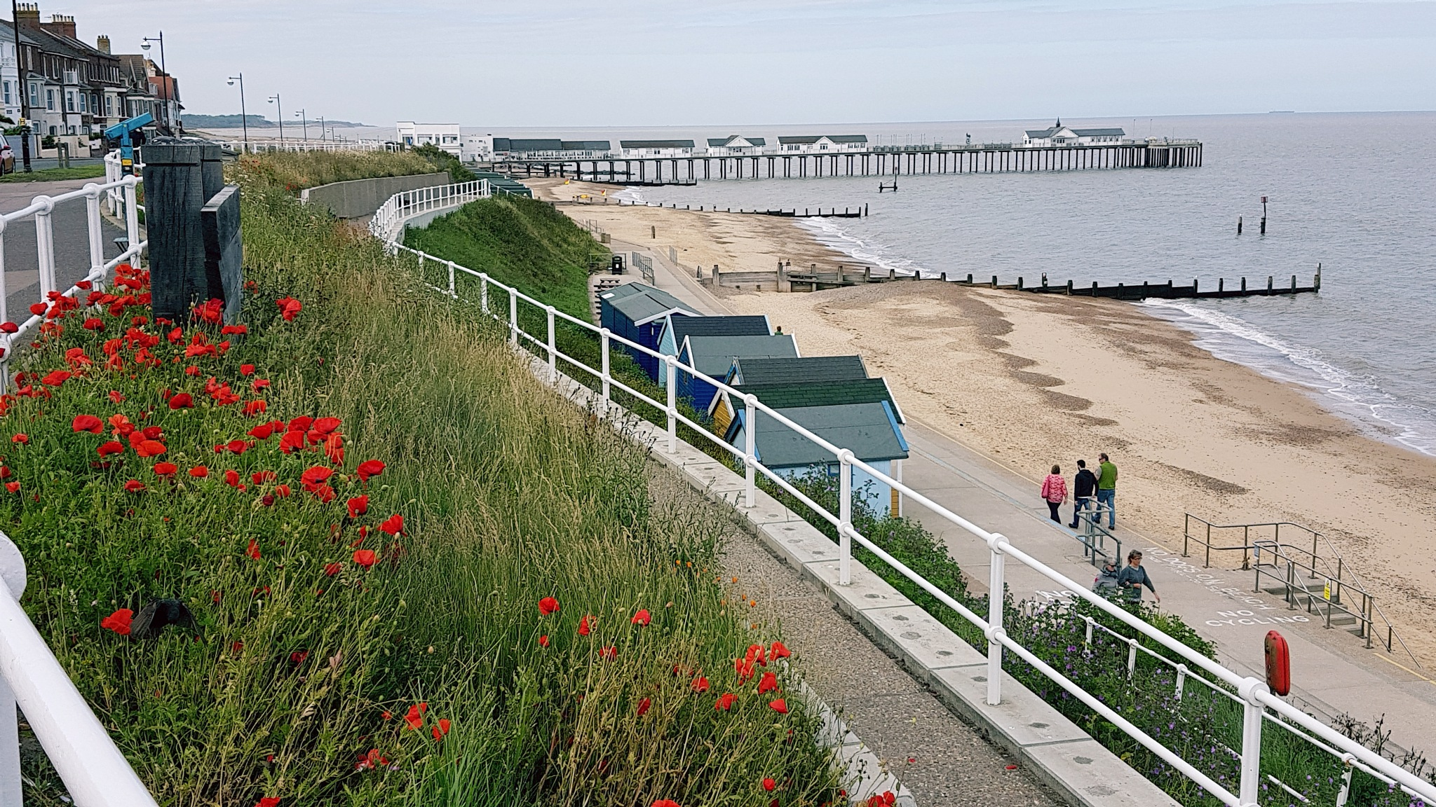 Southwold on sea  by Annette Francis
