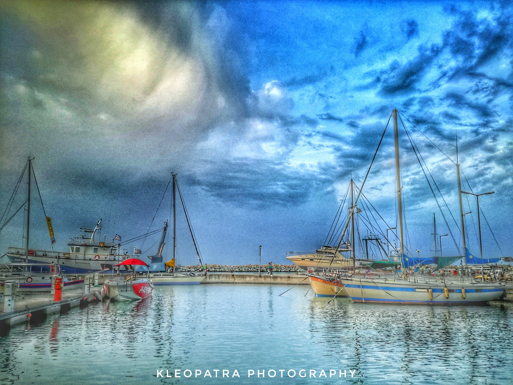Port of Platamonas by Kleopatra_pictures