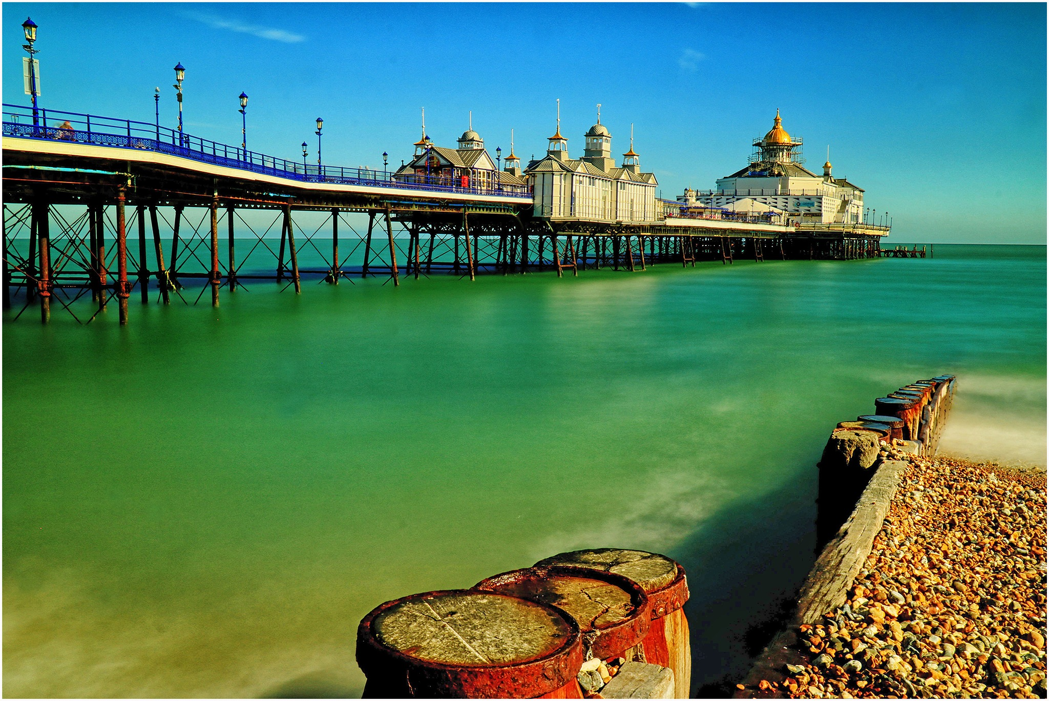 eastbourne pier by Michael Germishuys
