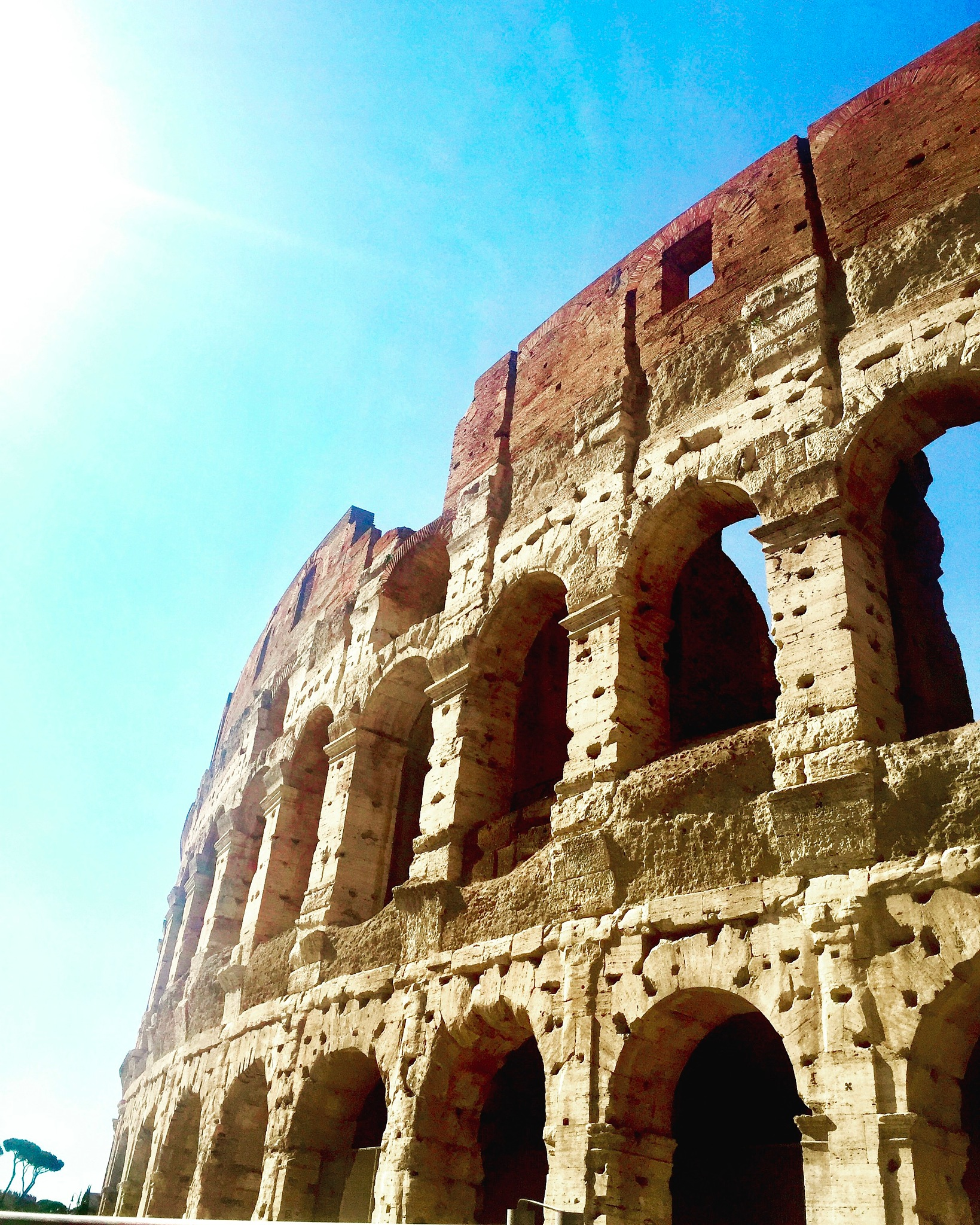 The Colosseum in Rome by stephengalvinn