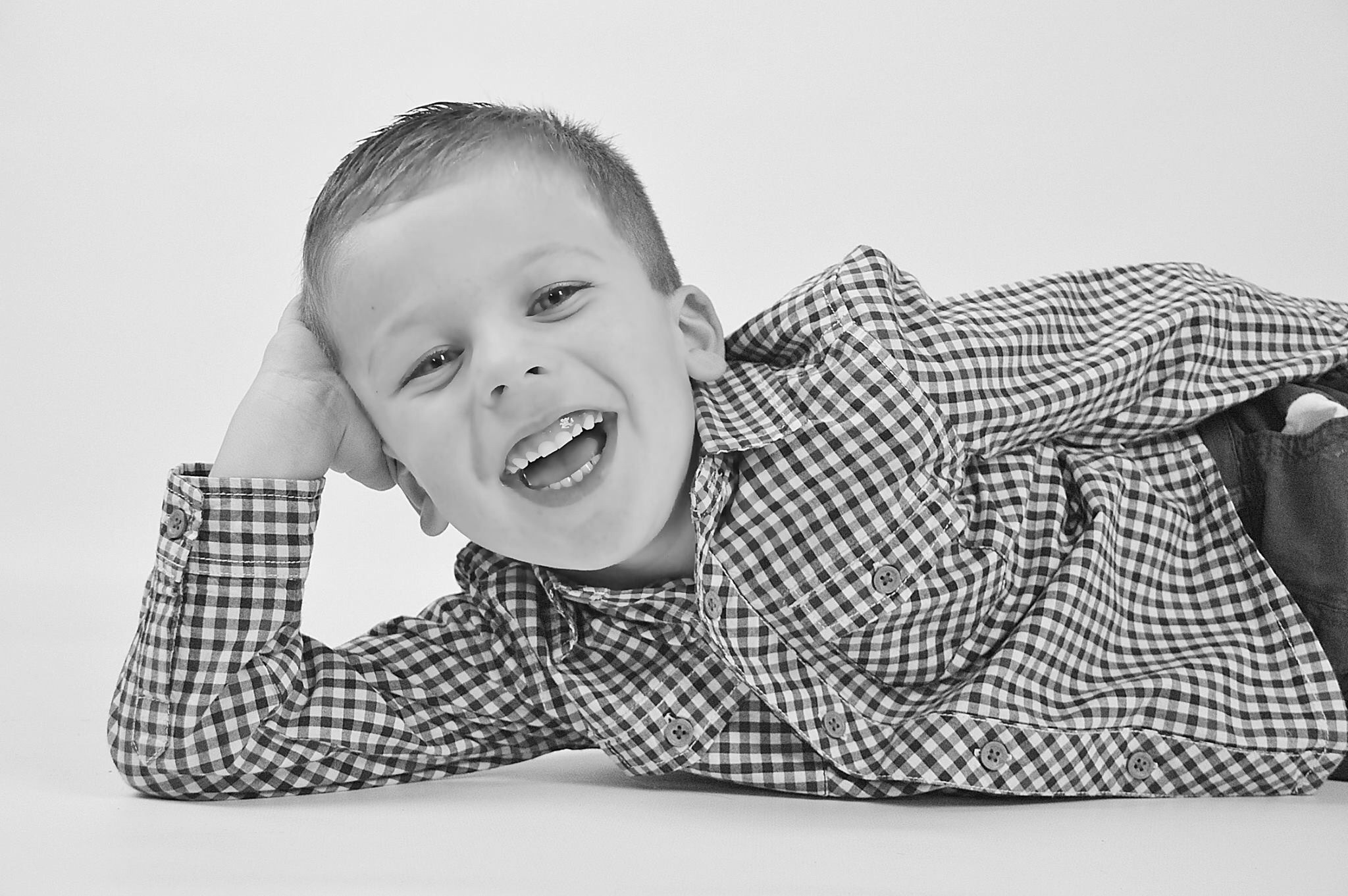 Cheeky Oliver  by Caroline Wade
