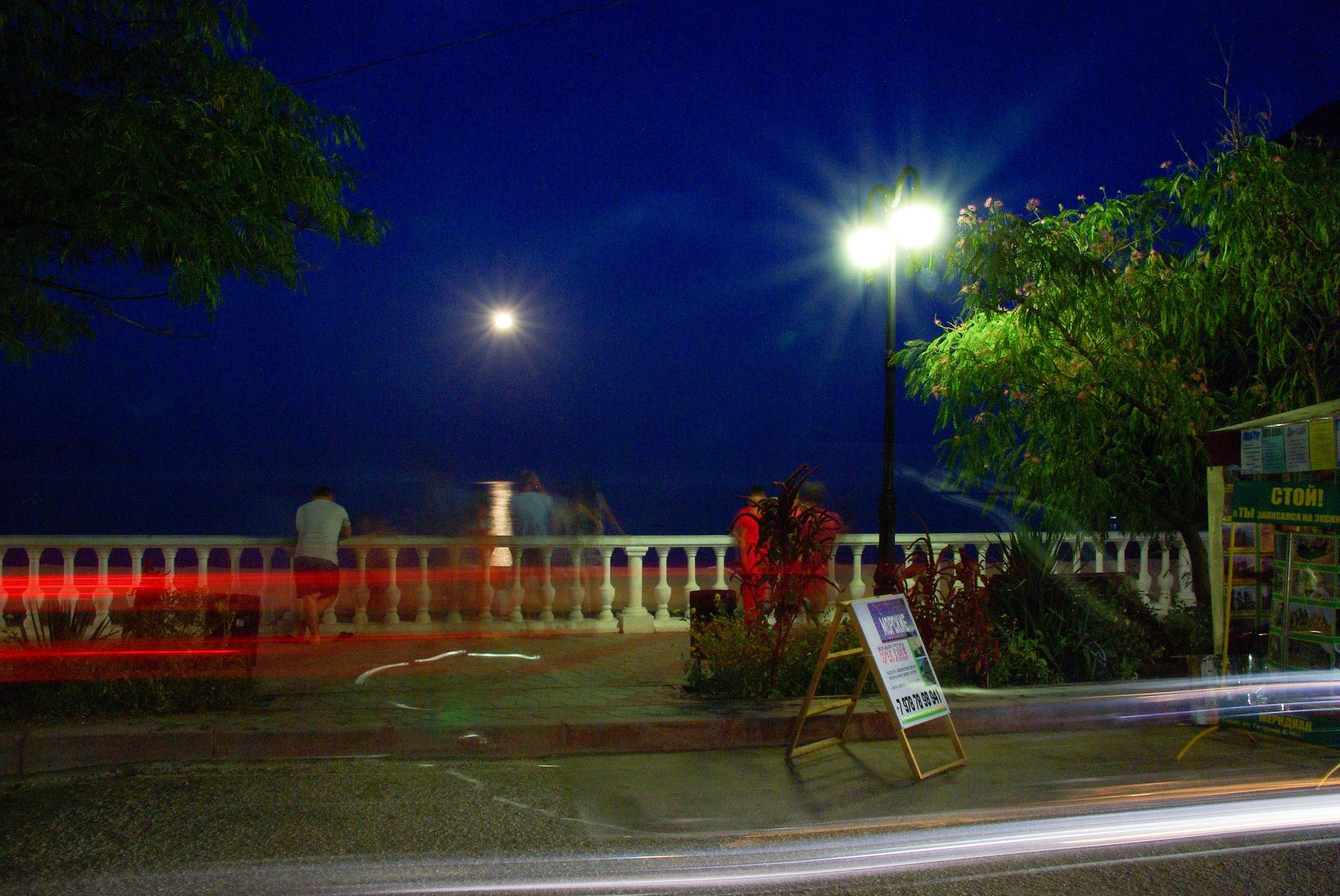 Promenade nocturne by Oleg Réut (Kuvshinov)
